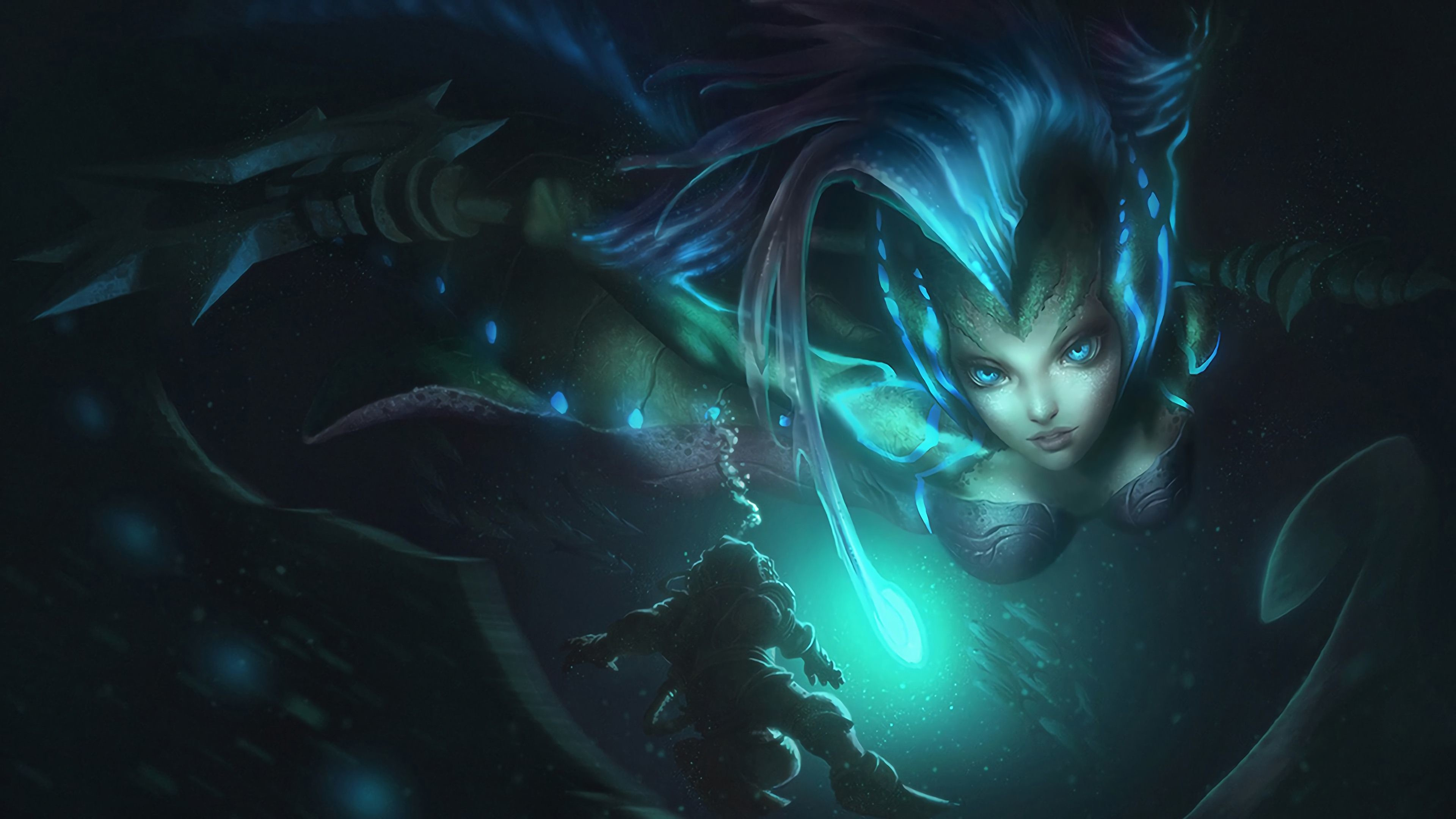 Res: 3840x2160, 52 Nami (League Of Legends) HD Wallpapers | Backgrounds