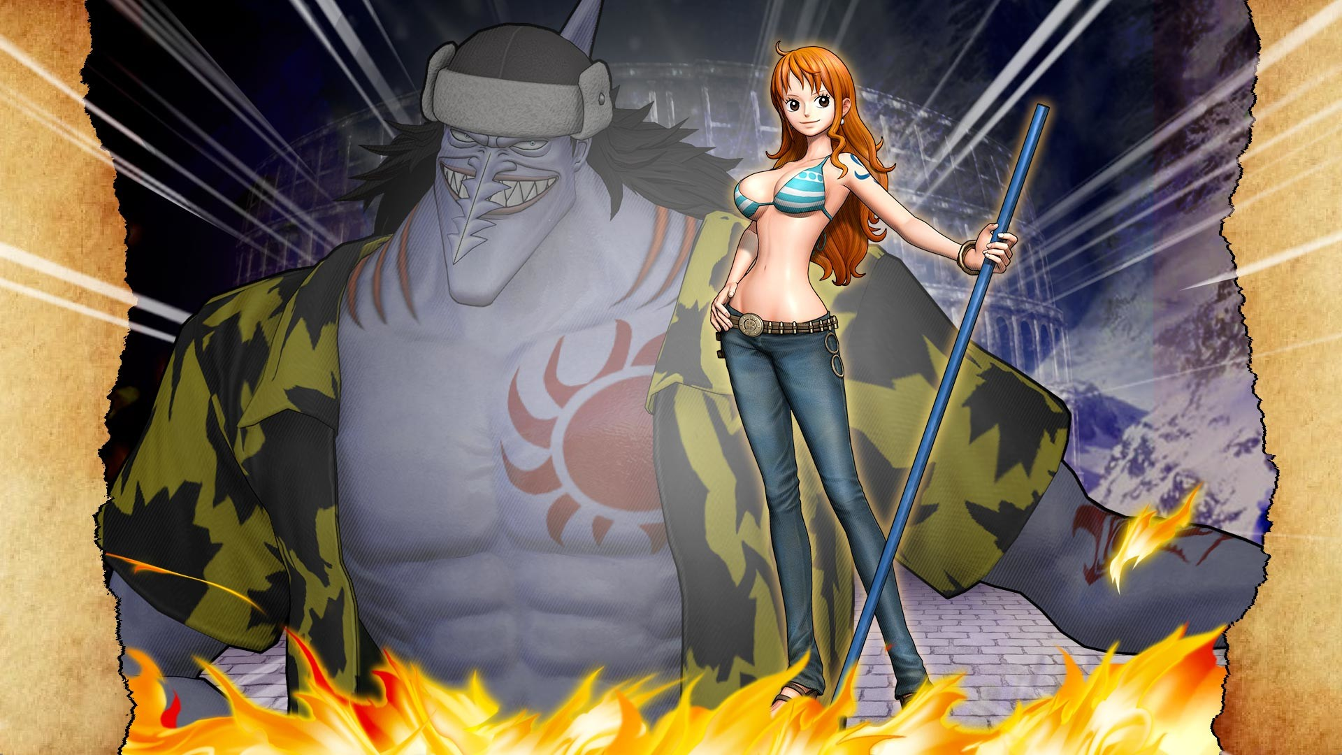 Res: 1920x1080, Nami Wallpaper from One Piece: Pirate Warriors 3