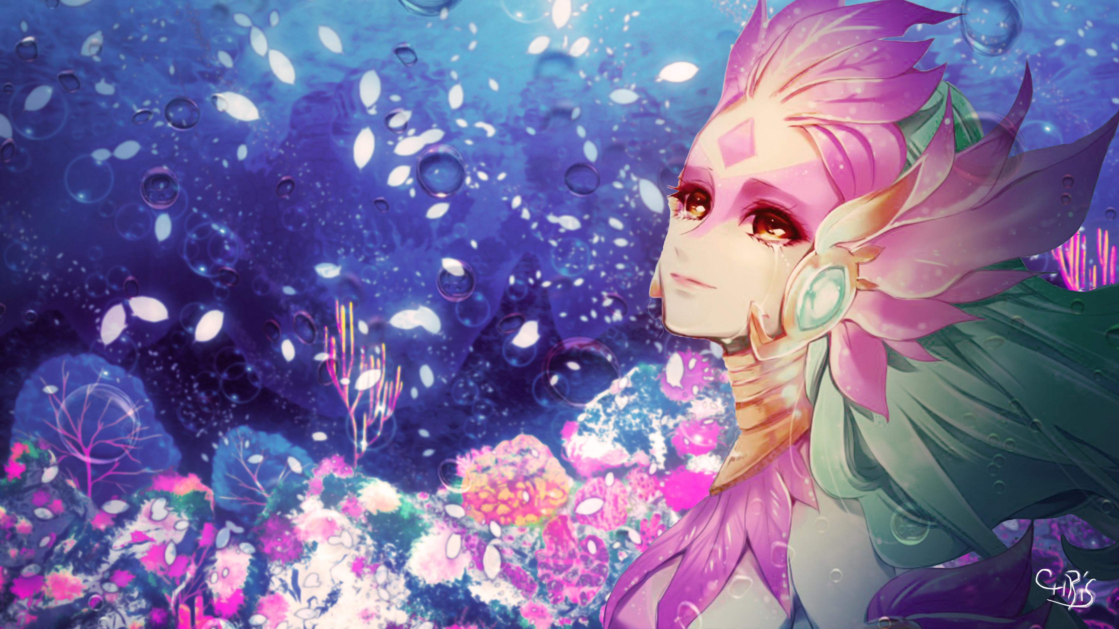 Res: 3840x2160, River Spirit Nami wallpaper