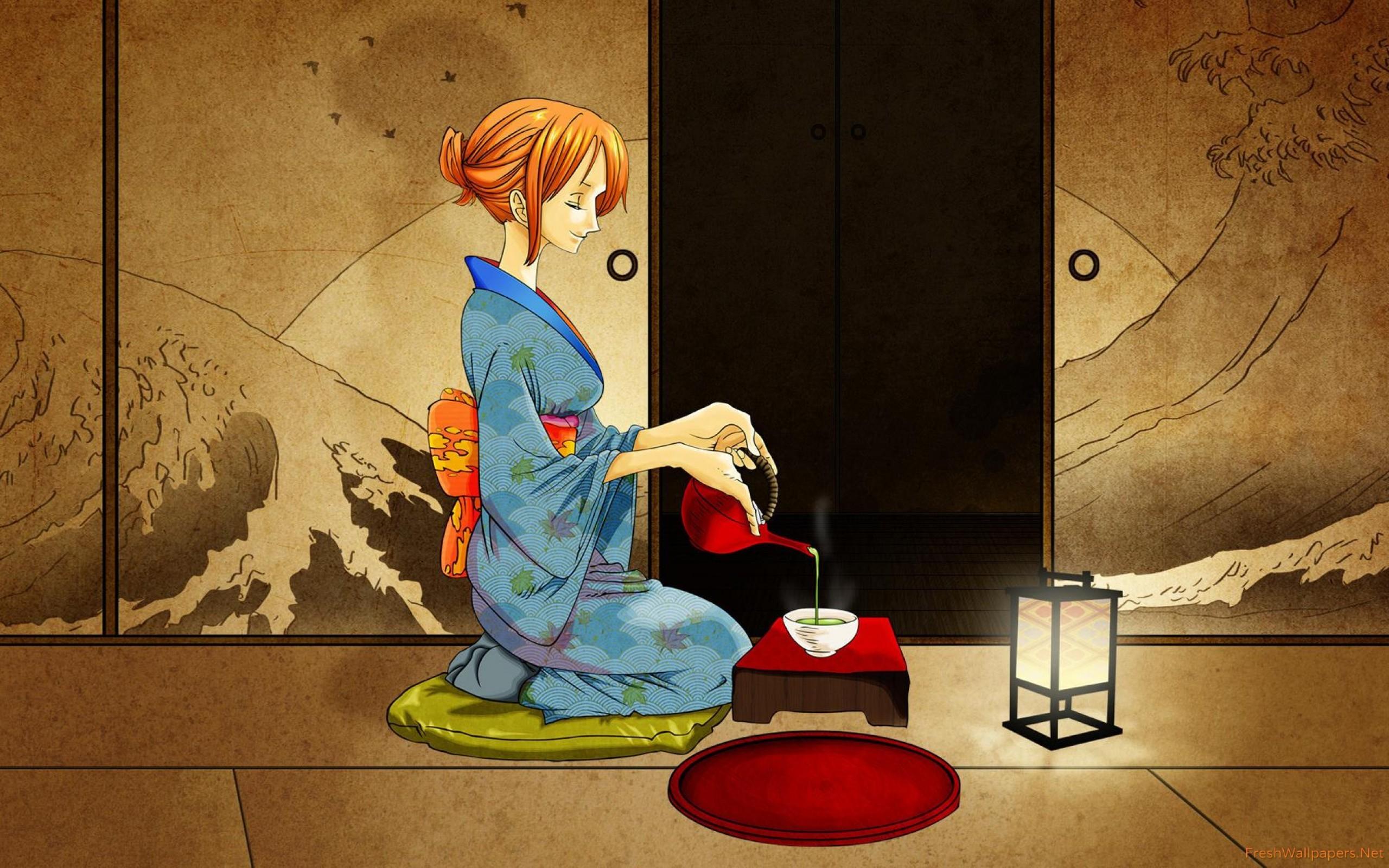 Res: 2560x1600, Nami - One Piece wallpaper