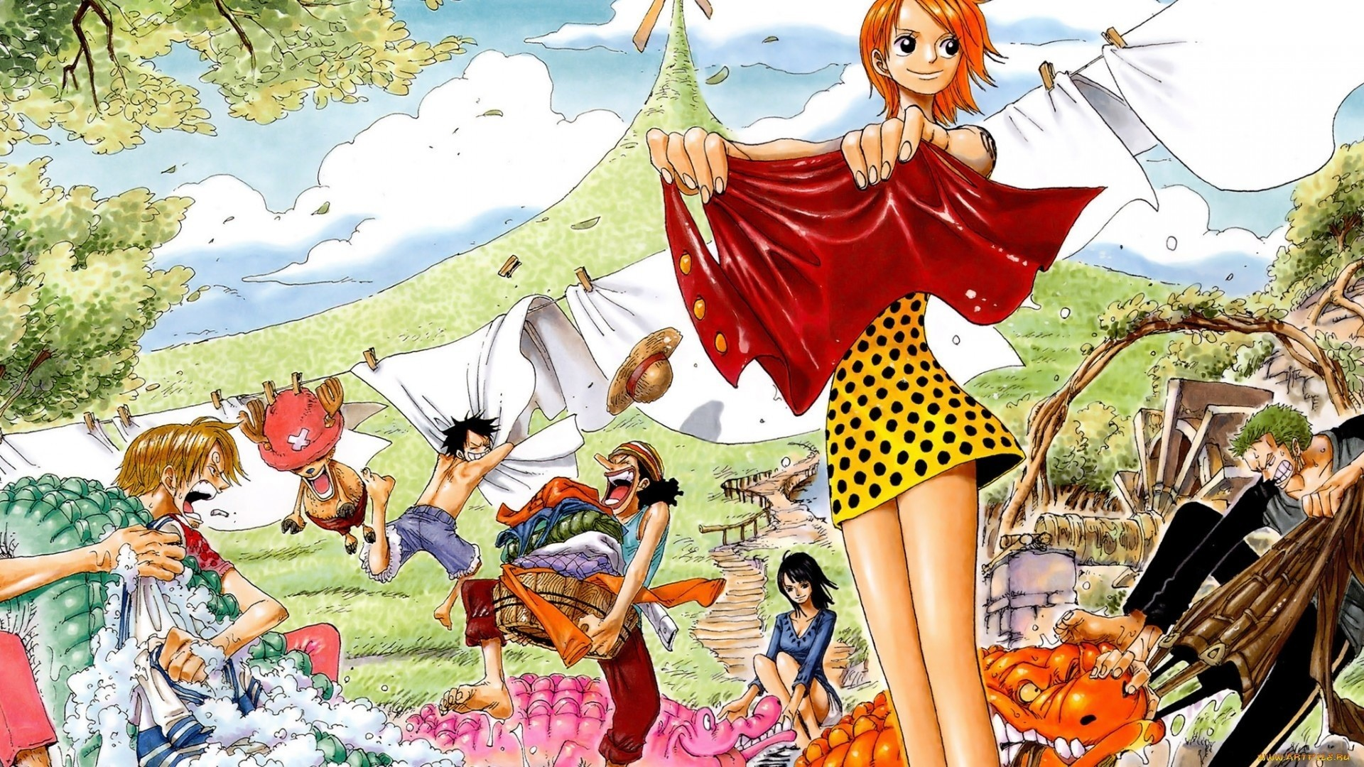 Res: 1920x1080, One Piece Nami Wallpaper 42