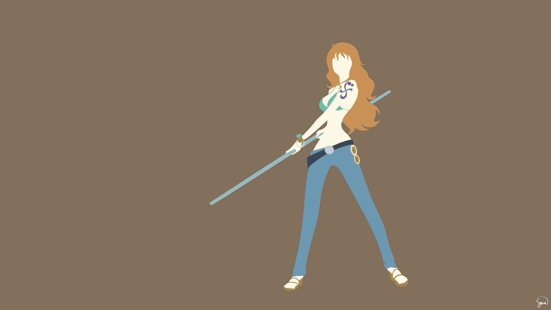 Res: 1920x1080, One Piece images Nami (>w<) HD wallpaper and background photos