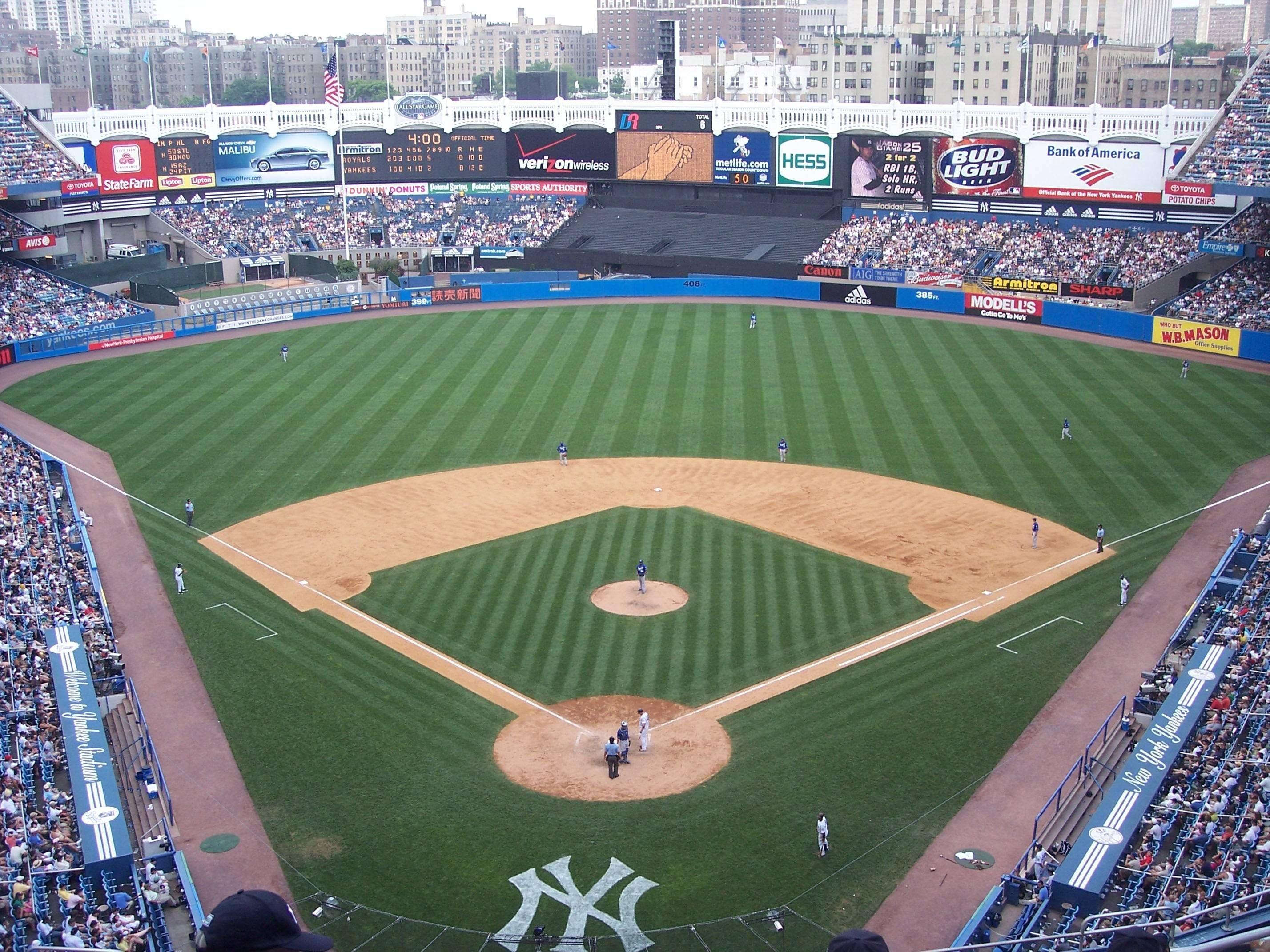 Res: 2856x2142, Yankee Stadium Wallpapers - Wallpaper Cave