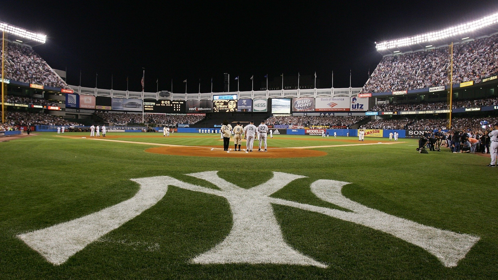 Res: 1920x1080, Yankees Stadium Wallpaper for Computer