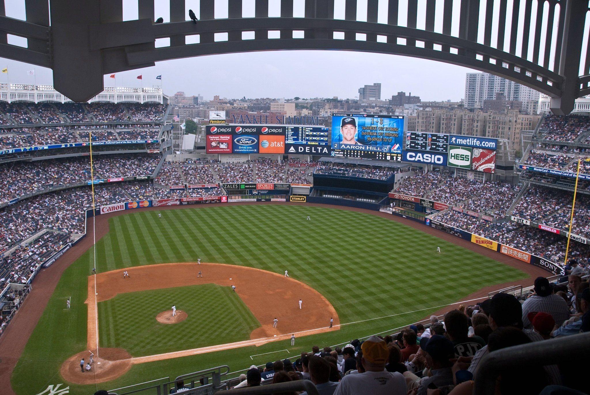 Res: 2048x1371, ...  Yankee Baseball Stadium Wallpapers, Download Free HD  Wallpapers