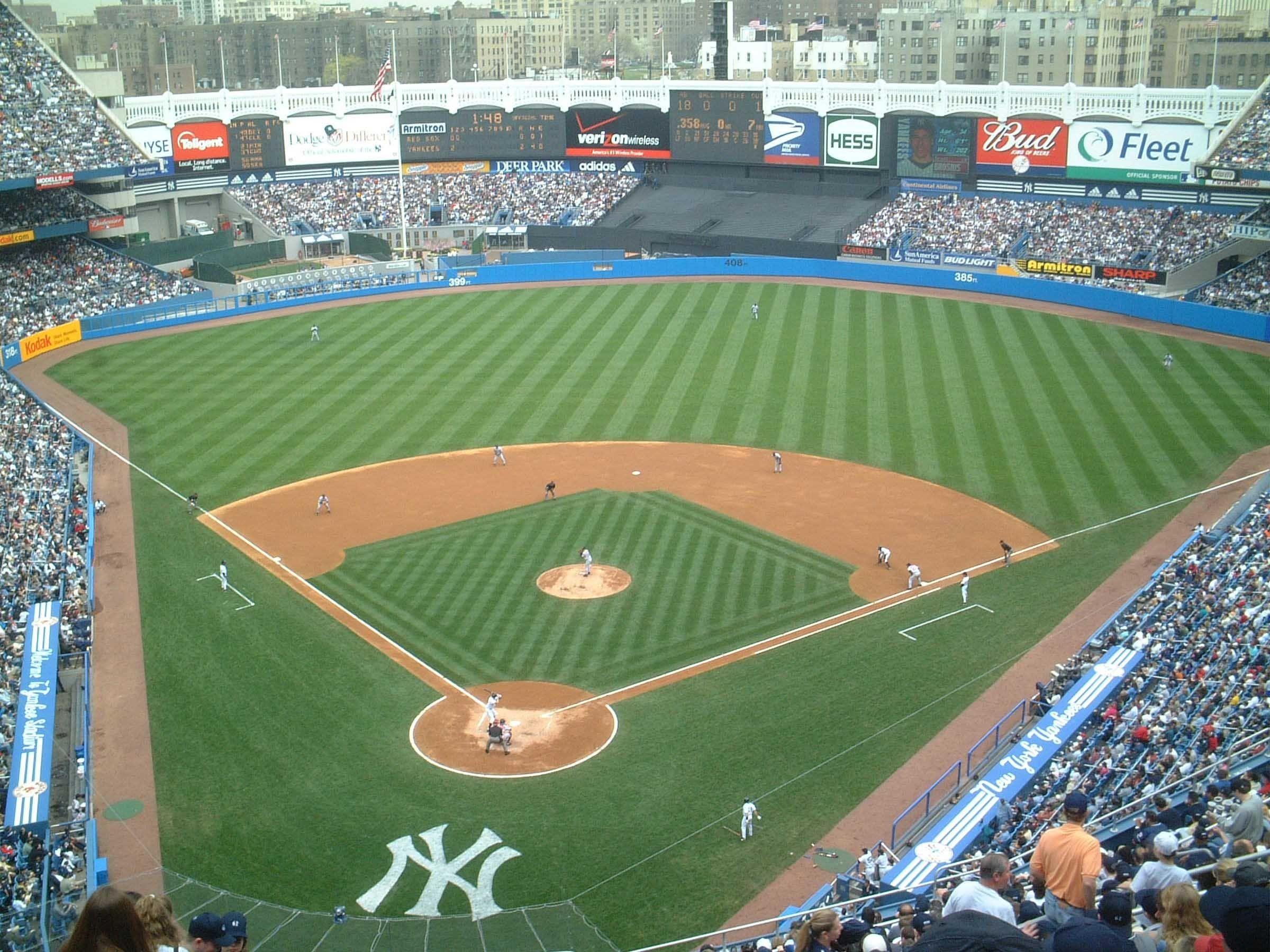 Res: 2400x1800, Yankees Stadium