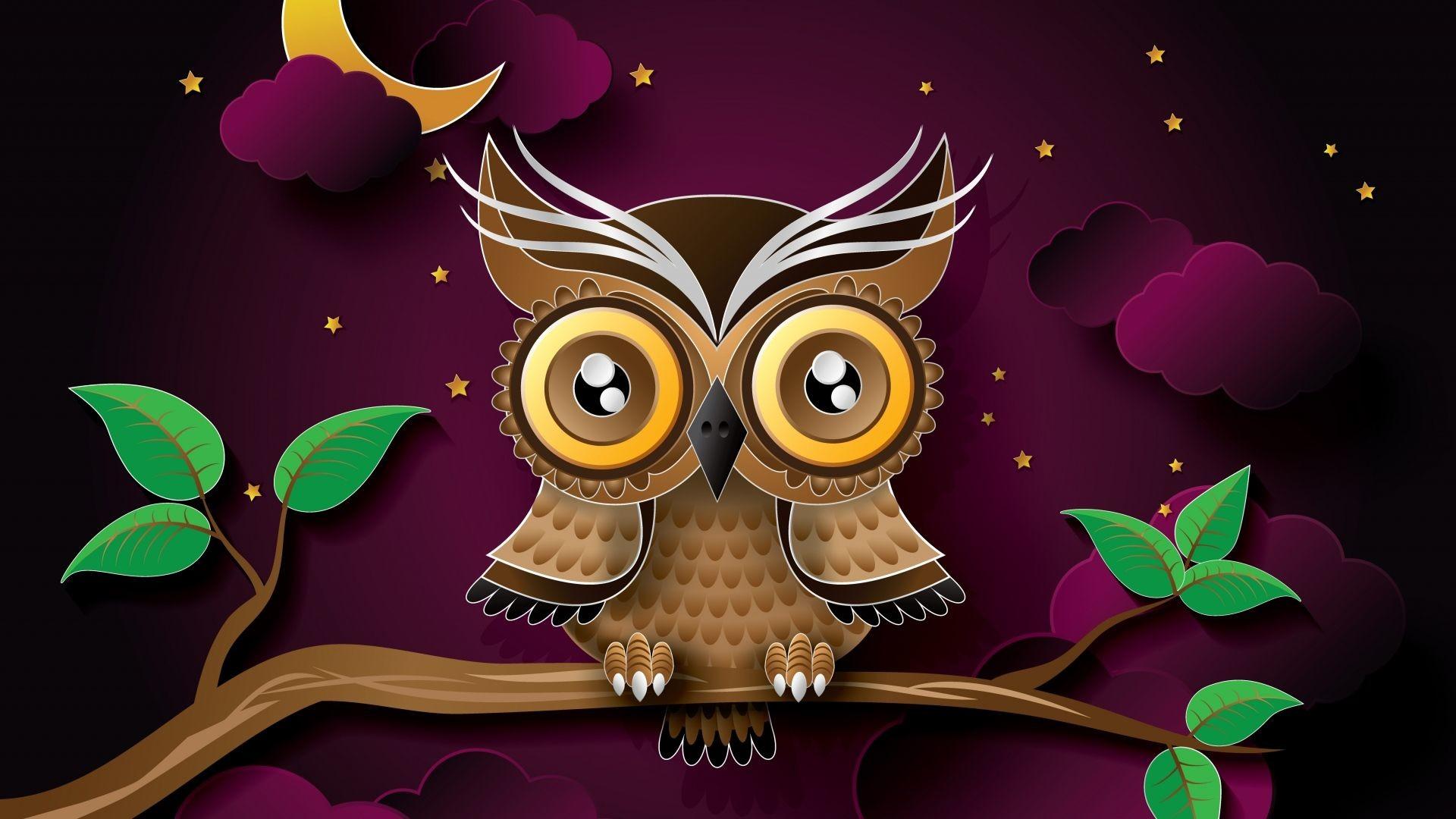 Res: 1920x1080, Birds Catch Best Bird Wallpaper HD download birds wallpaper · Cute Owl ...