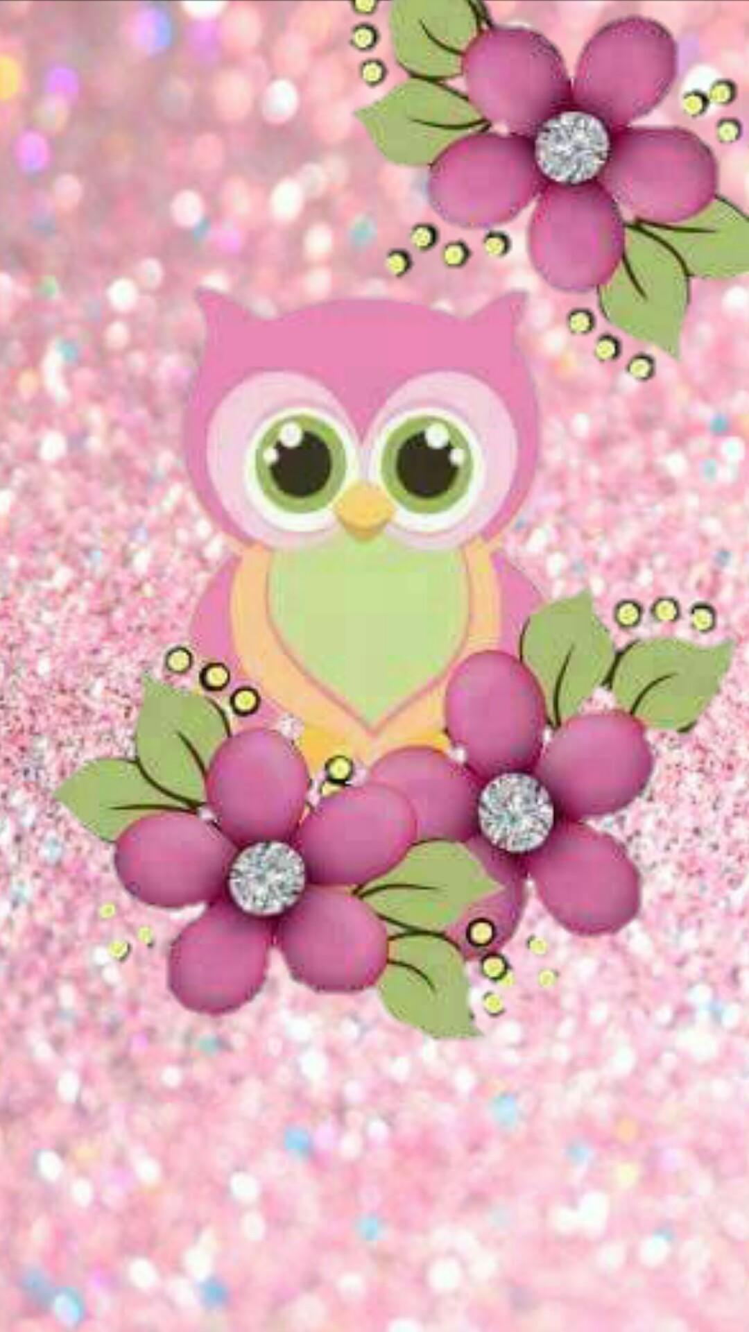 Res: 1080x1920, Cute Cartoon Owl Wallpaper 10