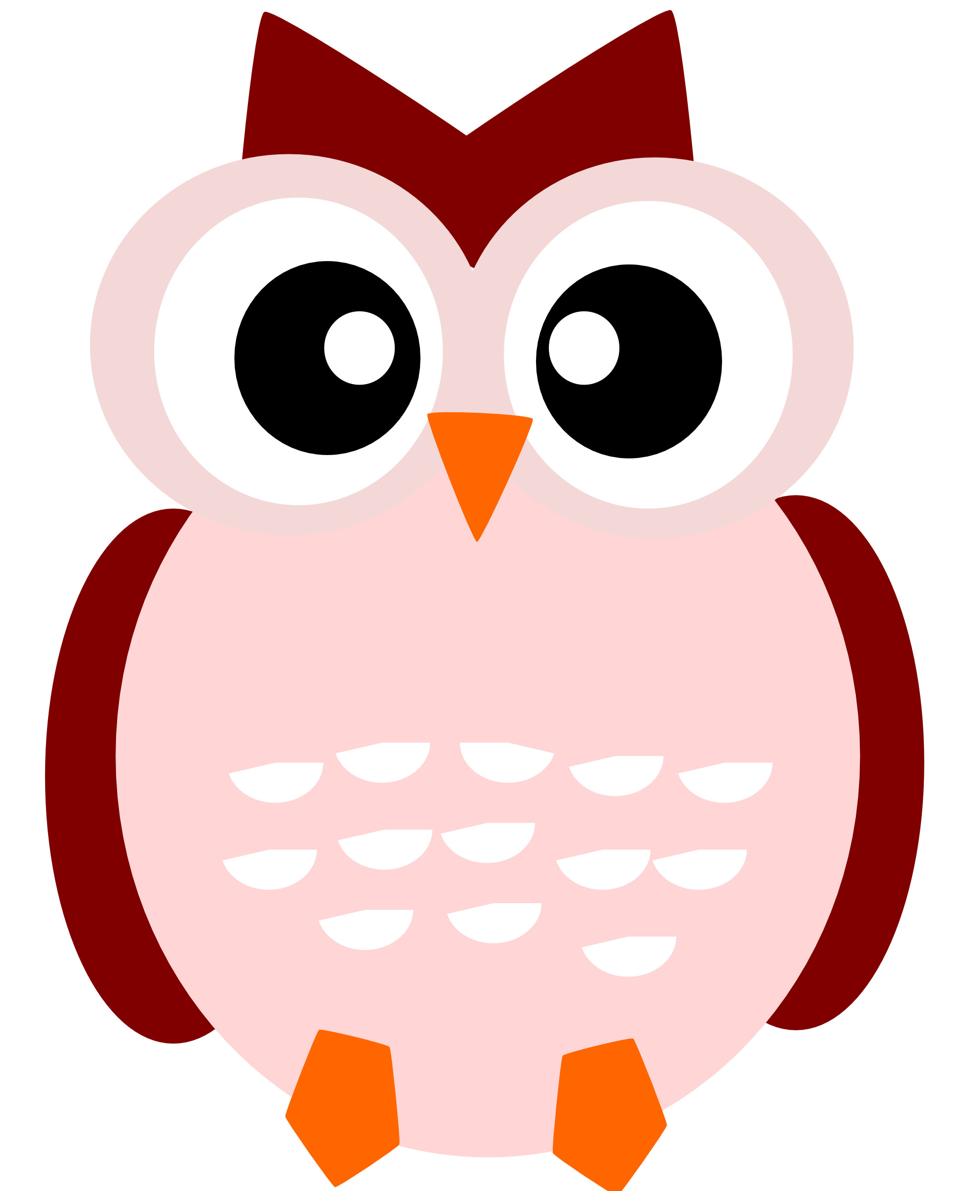 Res: 1946x2400, cute owl family clipart free