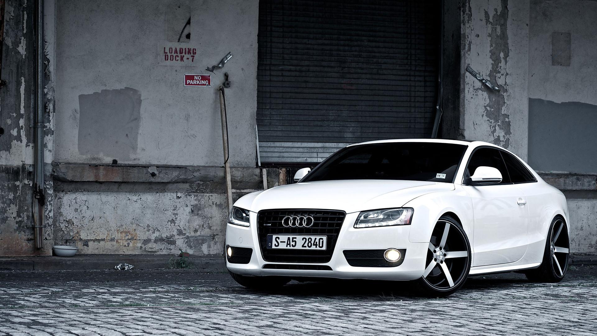 Res: 1920x1080, Audi S5 White Wallpaper