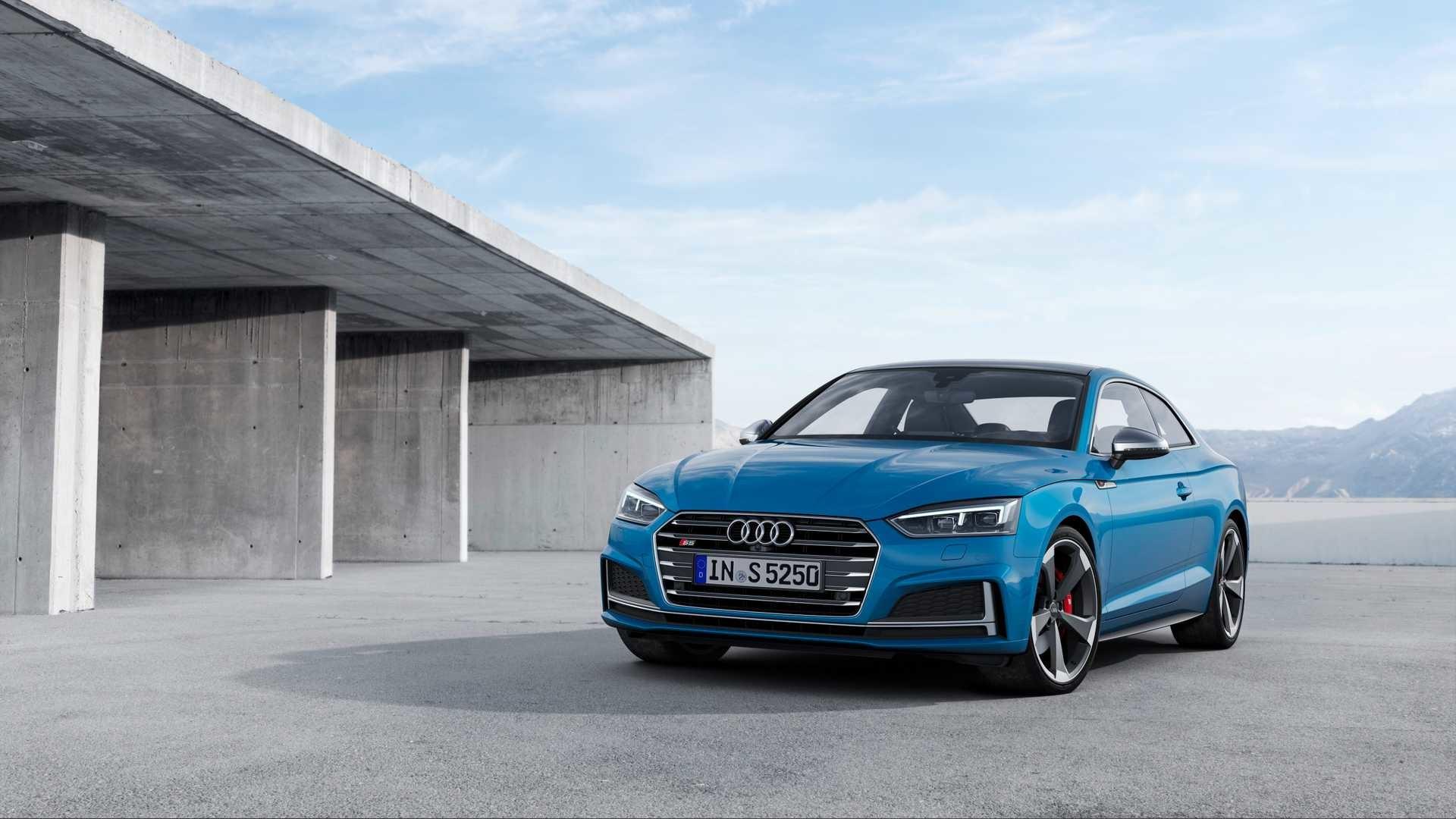 Res: 1920x1080, 2019 Audi S5 Coupé TDI Front Three-Quarter Wallpaper