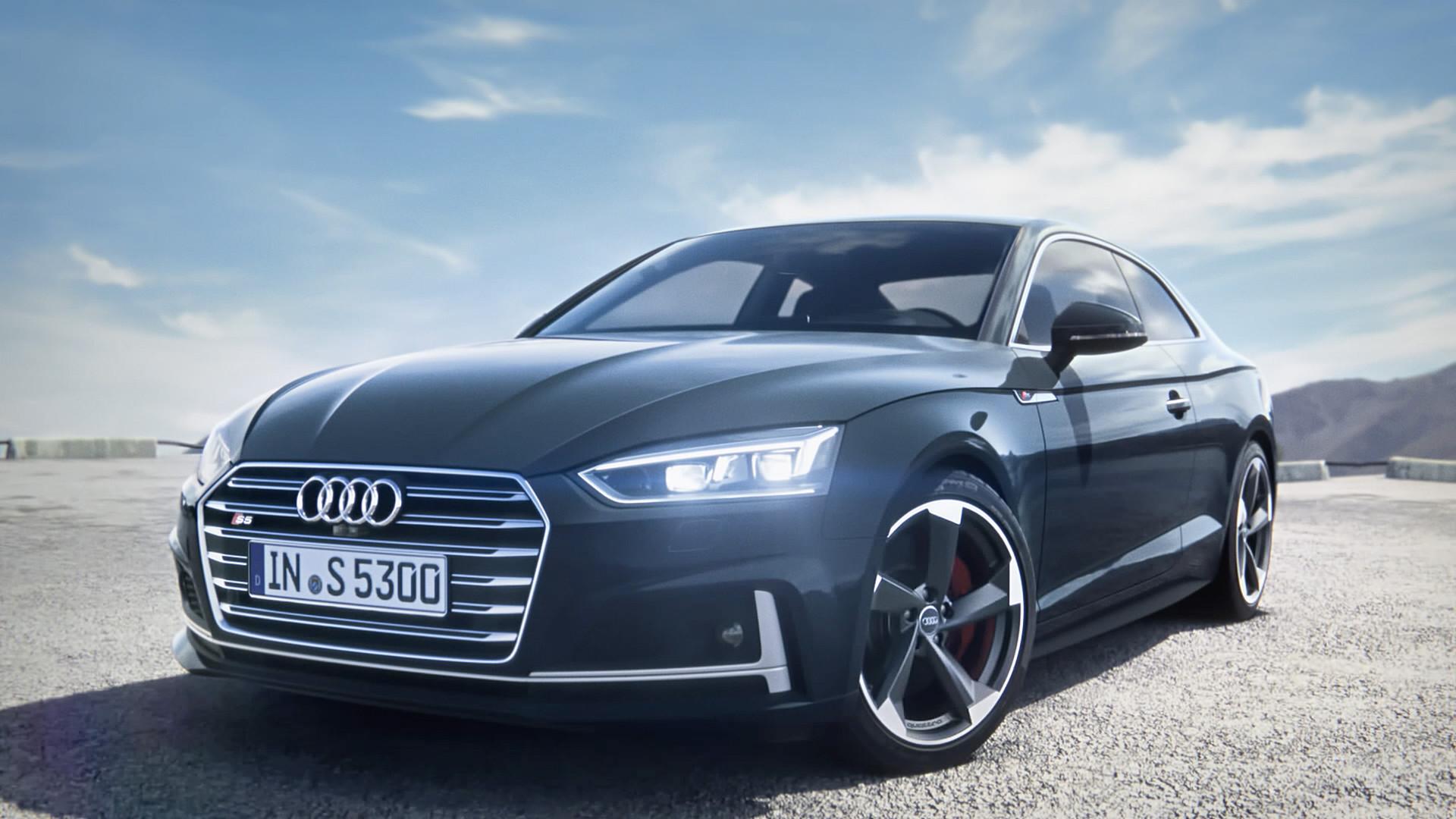 Res: 1920x1080, Der Lackfächer für das Audi S5 Coupé¹ bietet Ihnen zum Beispiel die  optionalen Töne Quantumgrau, Daytonagrau und Turboblau.