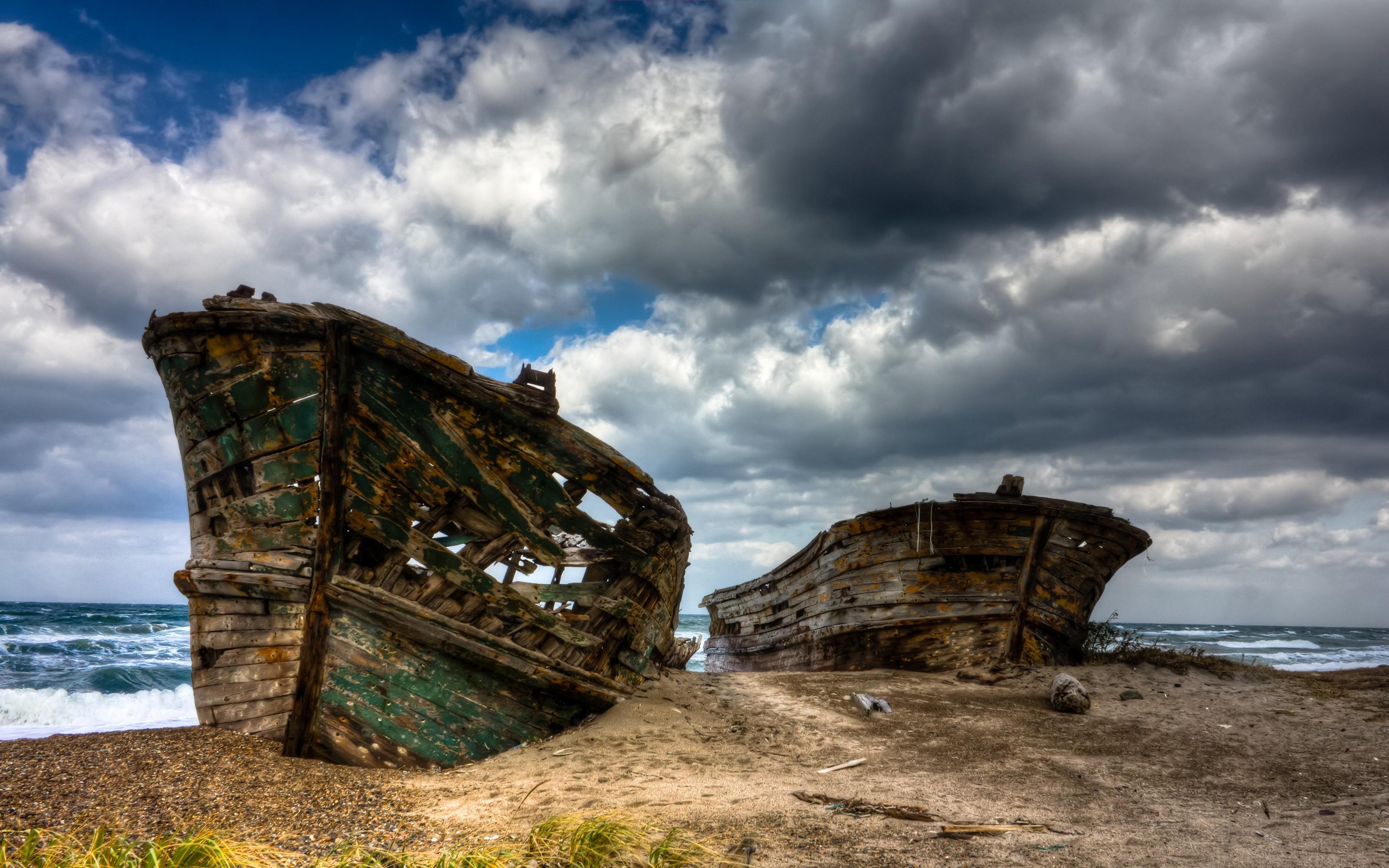 Res: 3200x2000, Shipwreck Beach