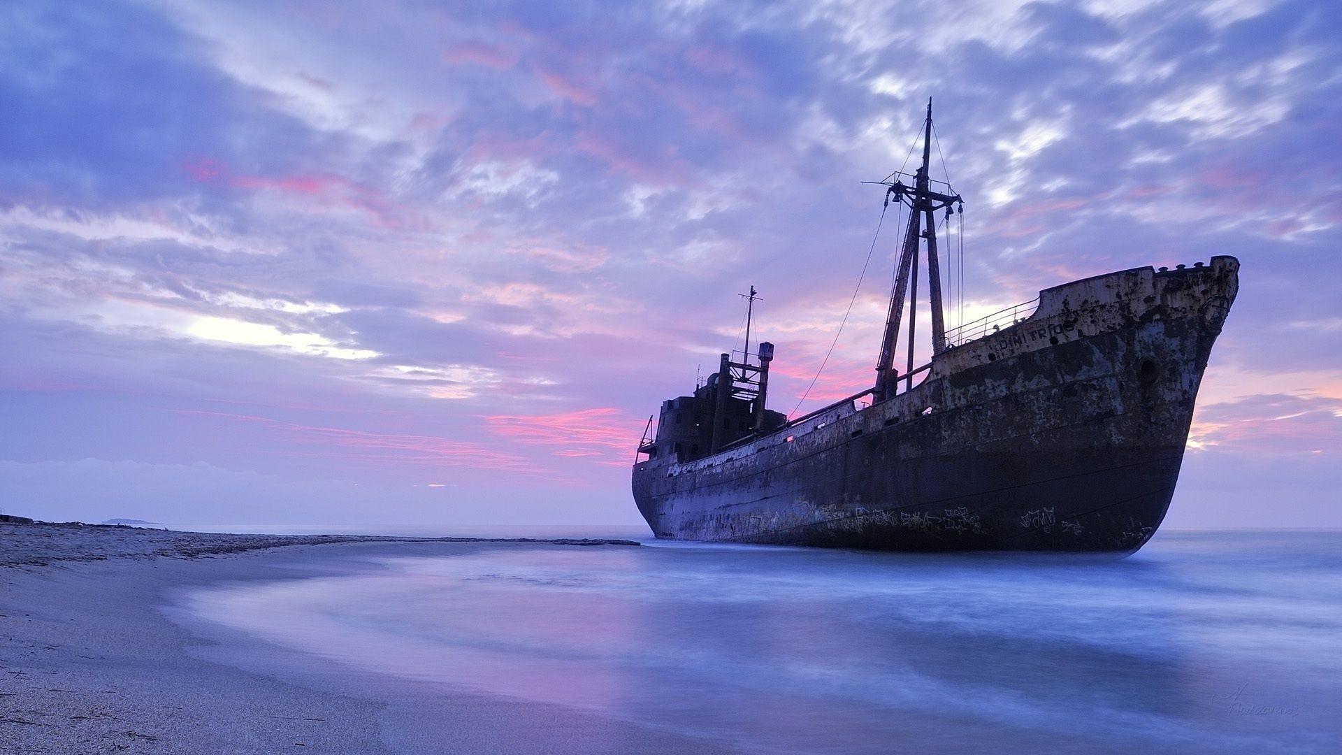 Res: 1920x1080, Dimitrios Shipwreck Gytheio Greece [1920 1080]
