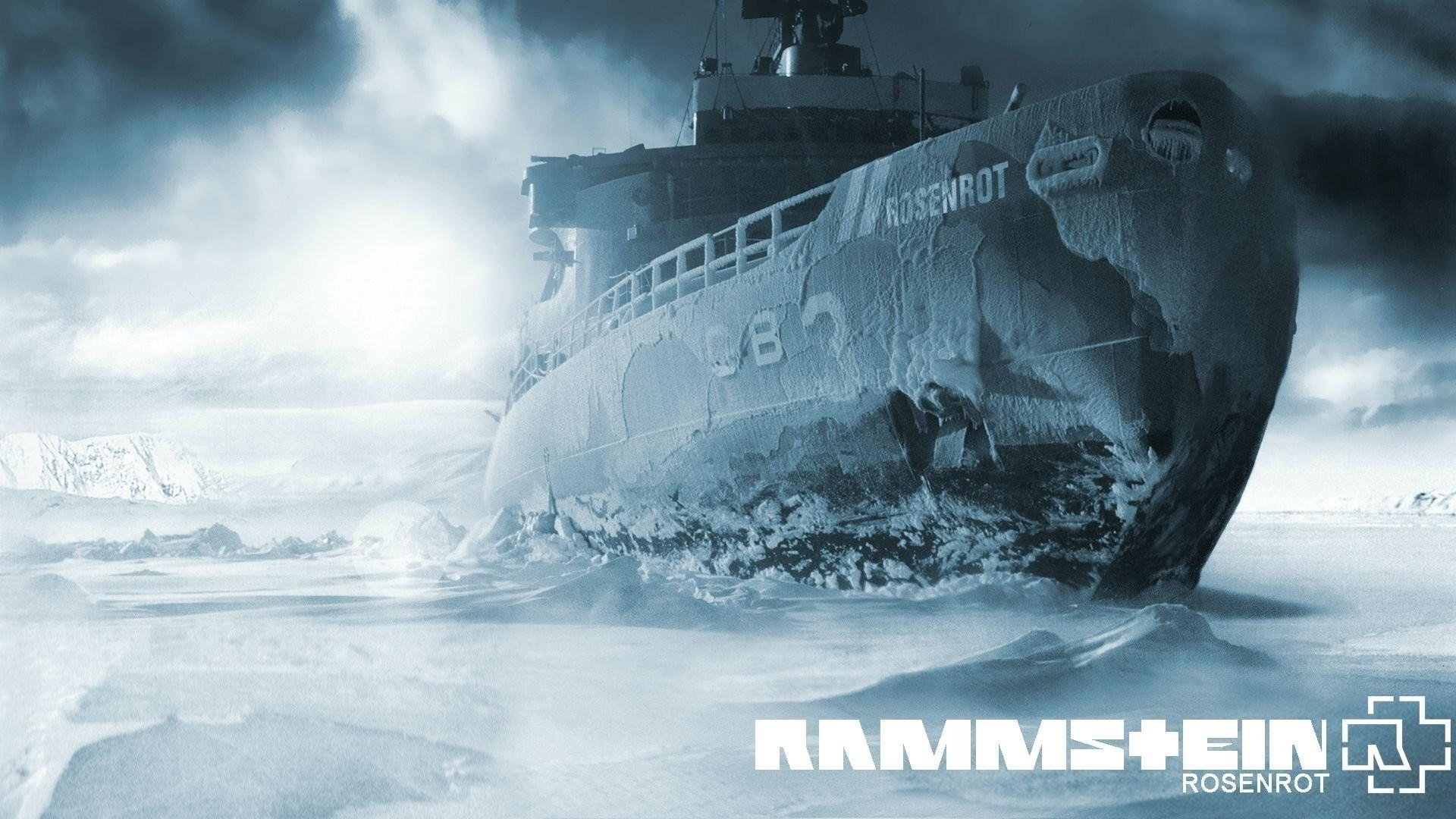 Res: 1920x1080,  Musik - Rammstein Deutschland Musik Album Cover Eis Schiff Shipwreck  Wallpaper