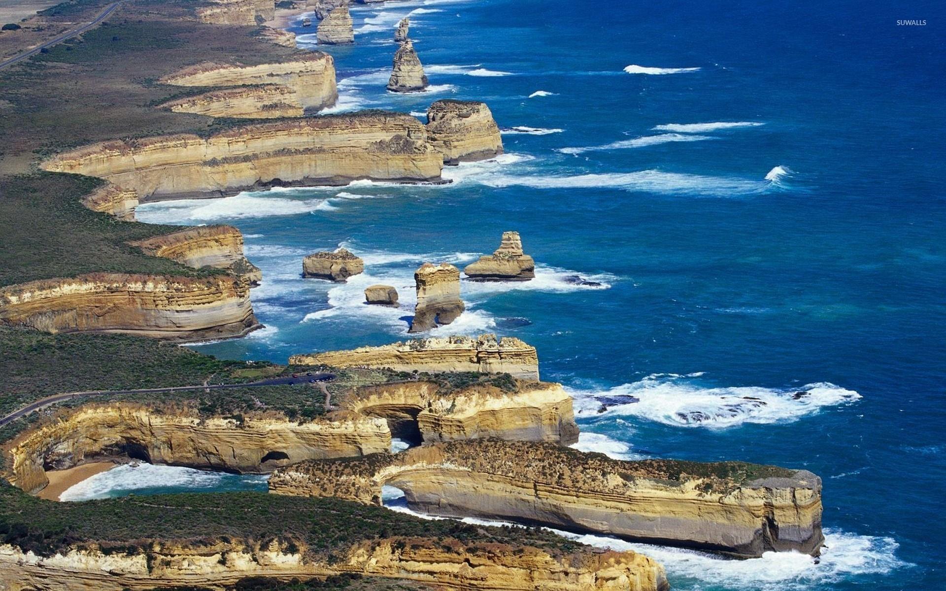 Res: 1920x1200, The Shipwreck Coast of Victoria wallpaper