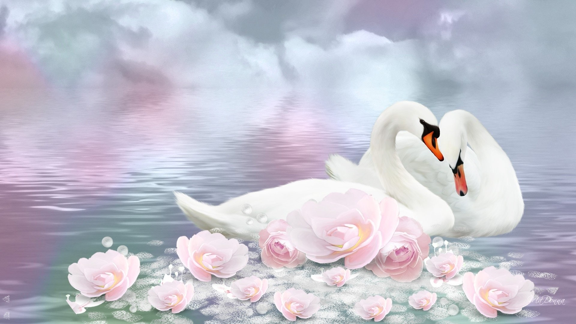 Res: 1920x1080, HD Wallpaper   Background Image ID:676689.  Animal Swan