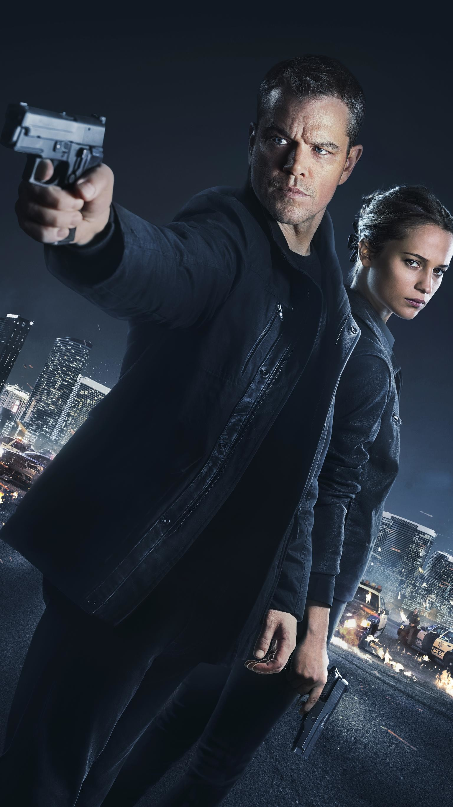 "Res: 1536x2732, Wallpaper for ""Jason Bourne"" ..."