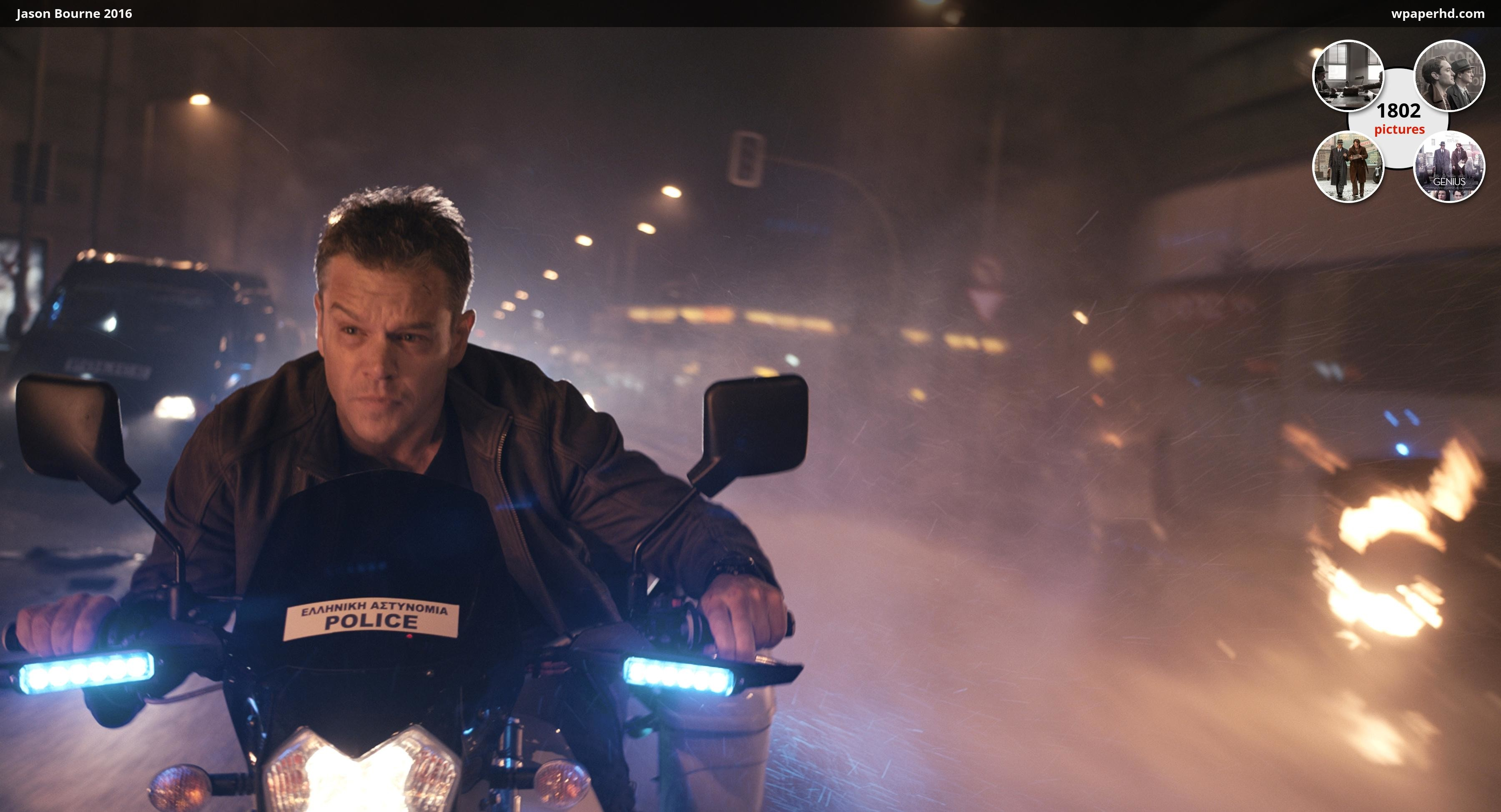 Res: 3600x1948, You are on page with Jason Bourne 2016 wallpaper, where you can download  this picture in Original size and ...
