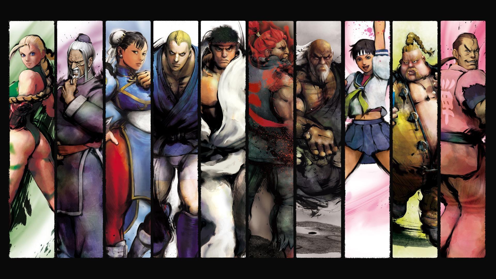 Res: 1920x1080, Street Fighter Sakura Cammy Ryu Akuma Chun-Li Abel wallpaper |  |  232459 | WallpaperUP