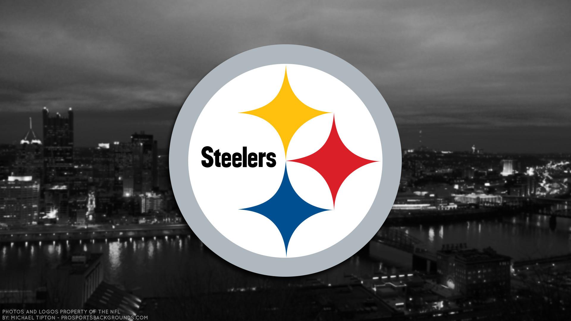Res: 1920x1080, Pittsburgh Steelers 2017 football logo wallpaper pc desktop computer .