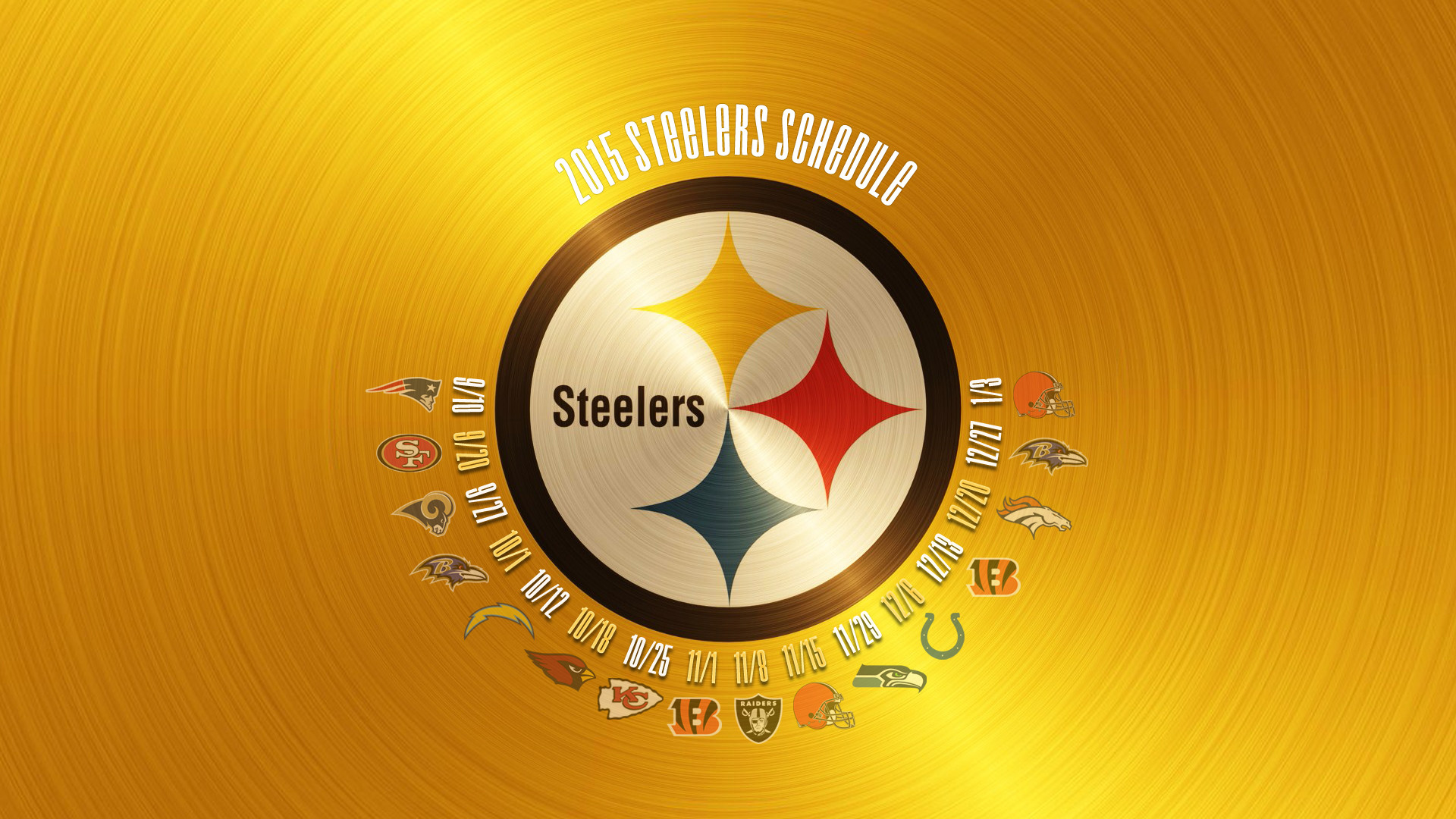 Res: 1920x1080, Free Pittsburgh Steelers Logo Wallpaper HD.