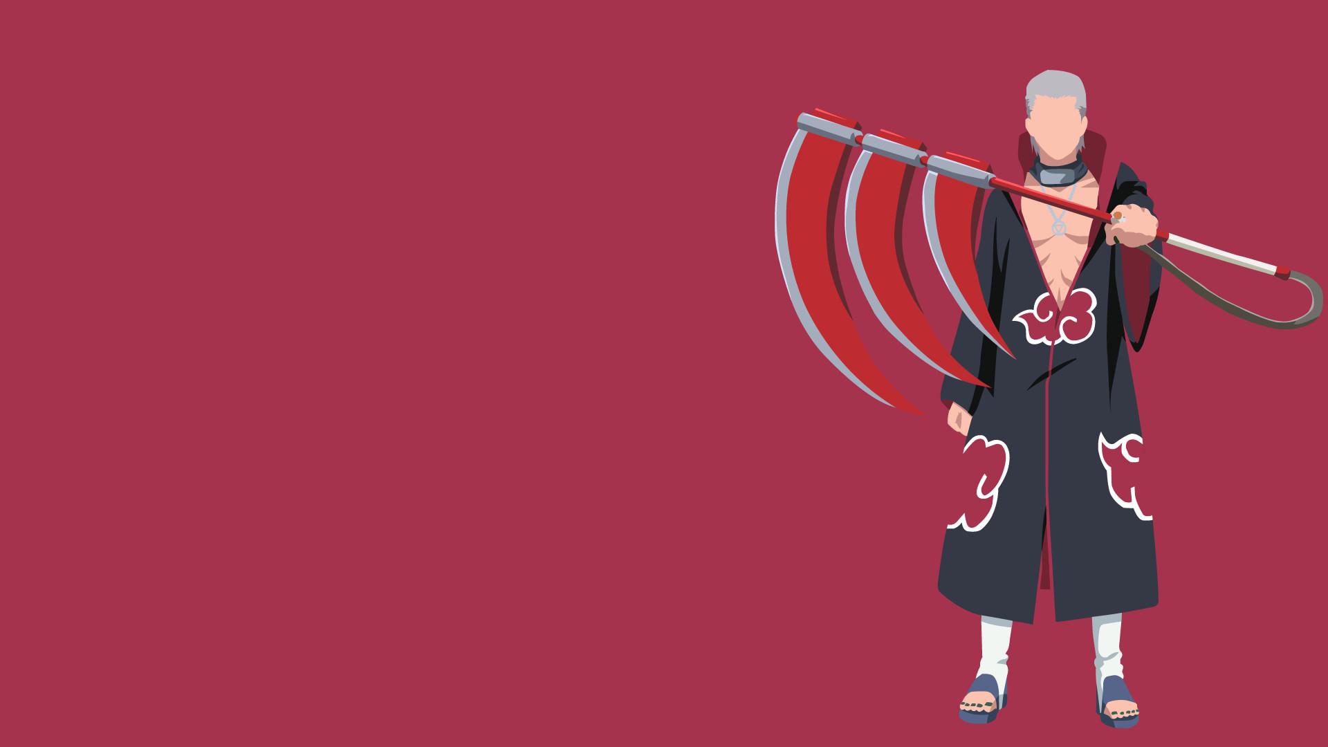 Res: 1920x1080, Hidan Akatsuki Naruto Shippuden by UzumakiAsh on