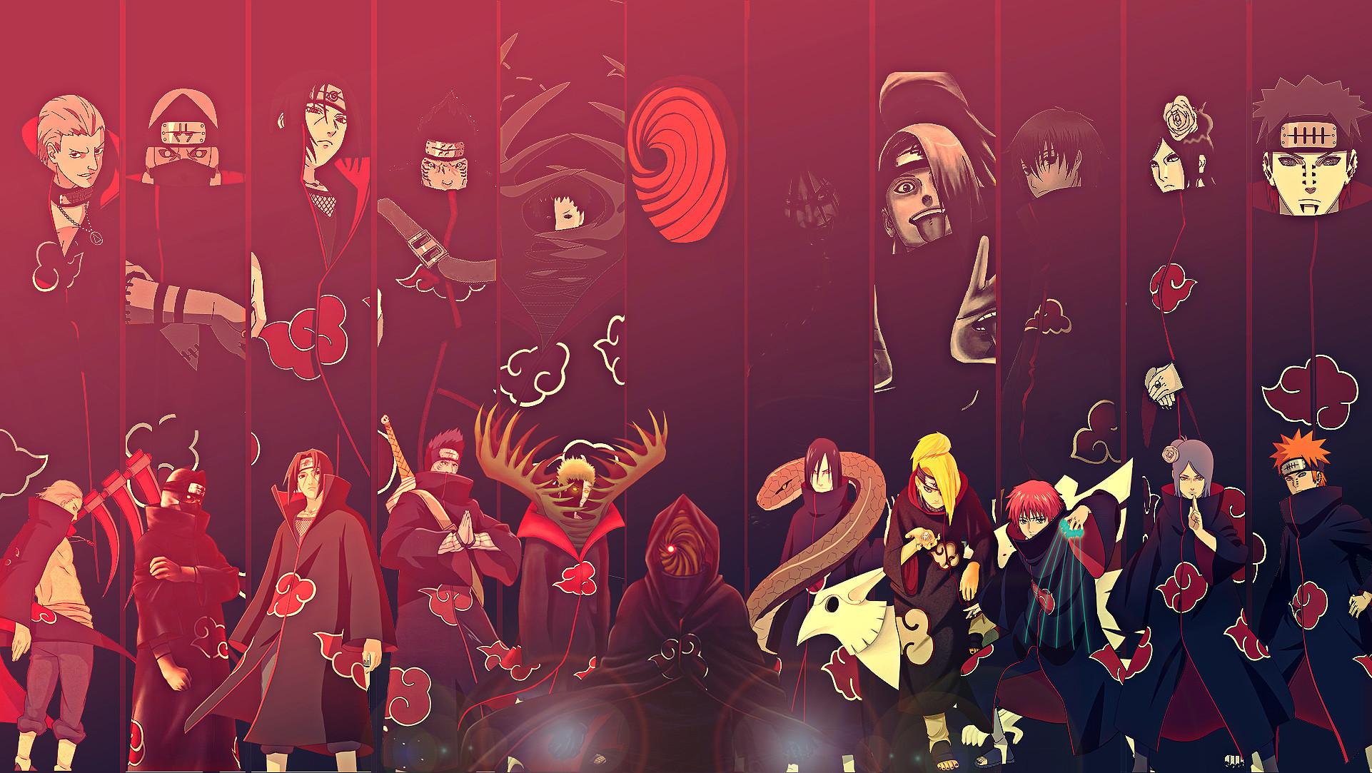 Res: 1922x1083, 1920x1080 1920x1080 1920x1200 zetsu itachi uchiha kisame kakuzu hidan  akatsuki group anime wallpaper .