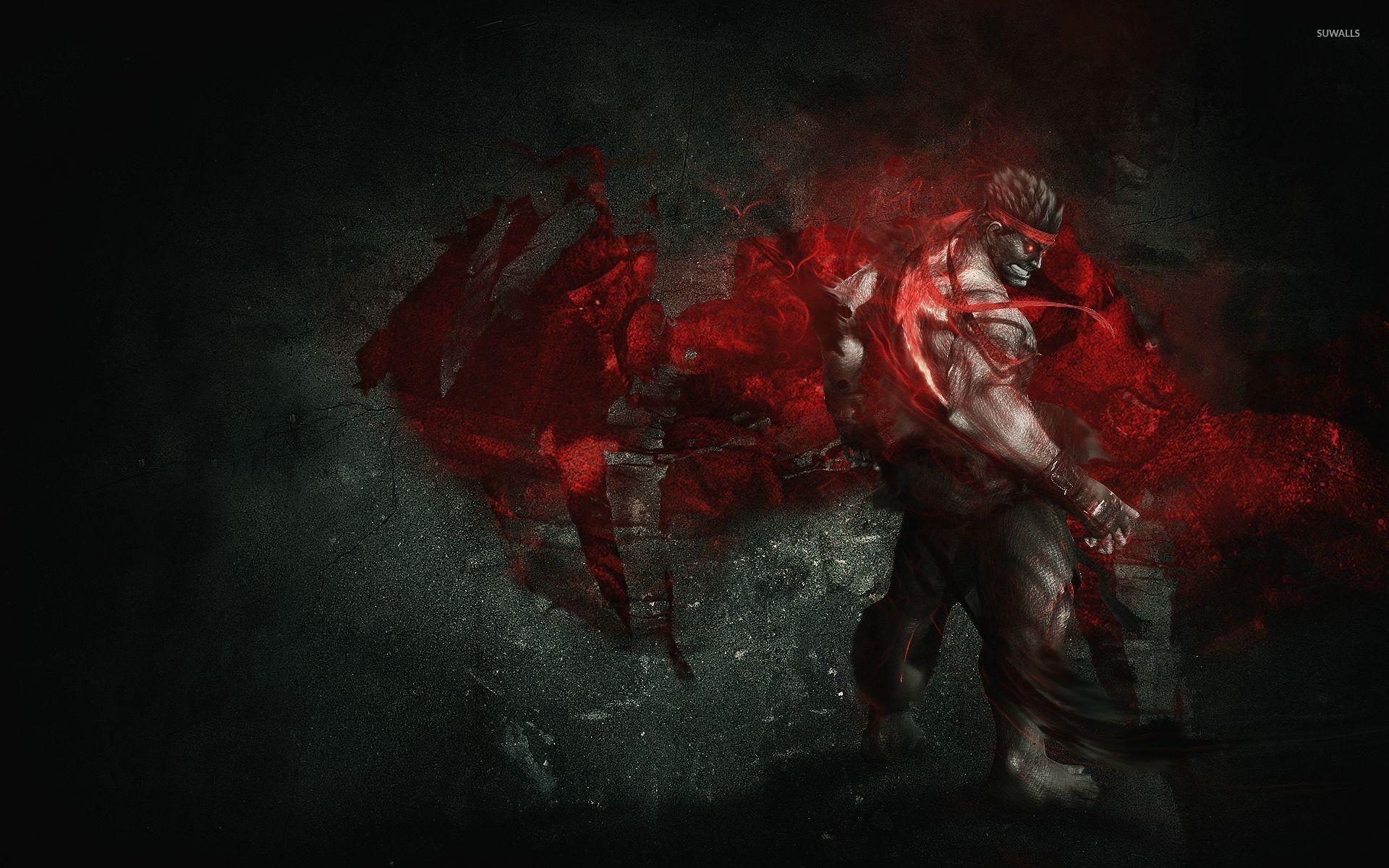 Res: 1920x1200, Evil Ryu - Street Fighter wallpaper