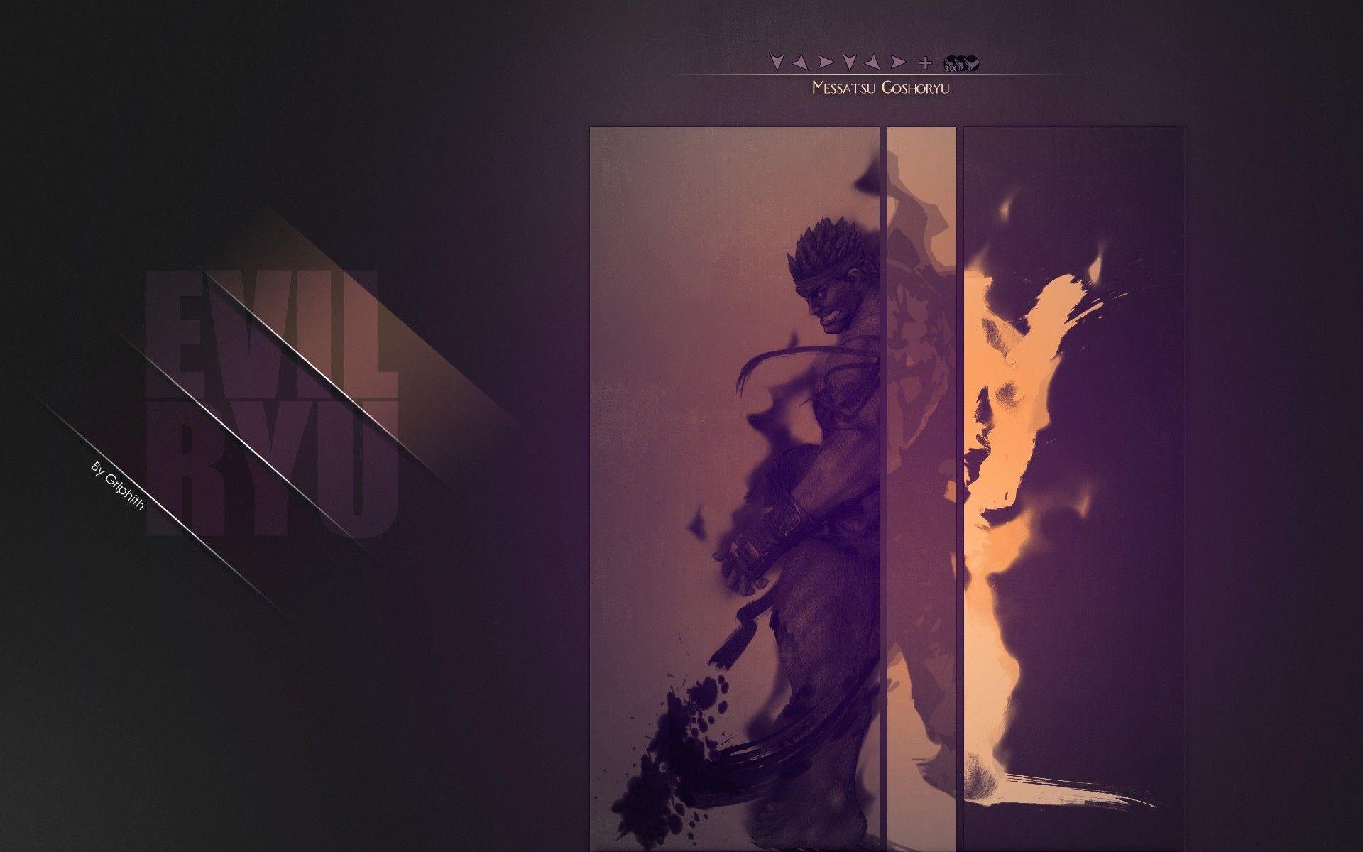 Res: 1920x1200, Download the Evil Ryu Wallpaper, Evil Ryu iPhone Wallpaper, Evil .