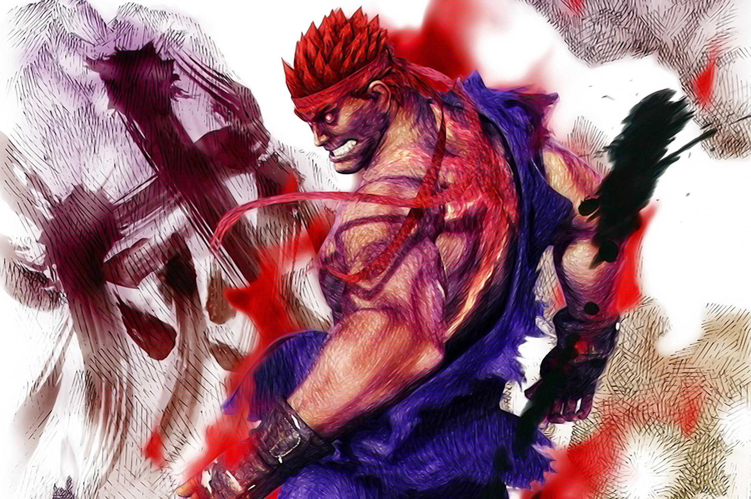 Res: 2560x1700, Evil Ryu Wallpaper