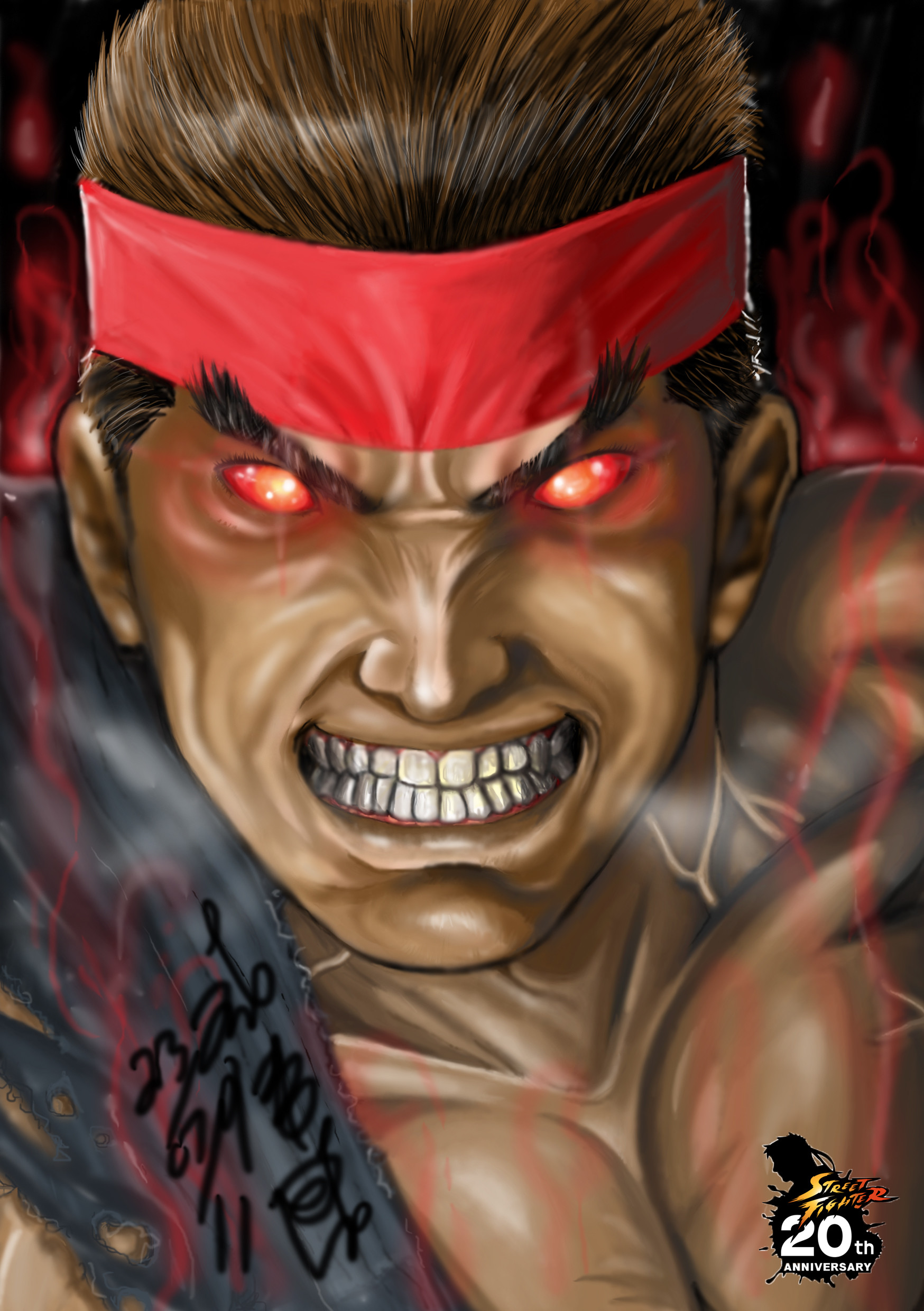 Res: 1748x2480, Street Fighter images evil ryu HD wallpaper and background photos