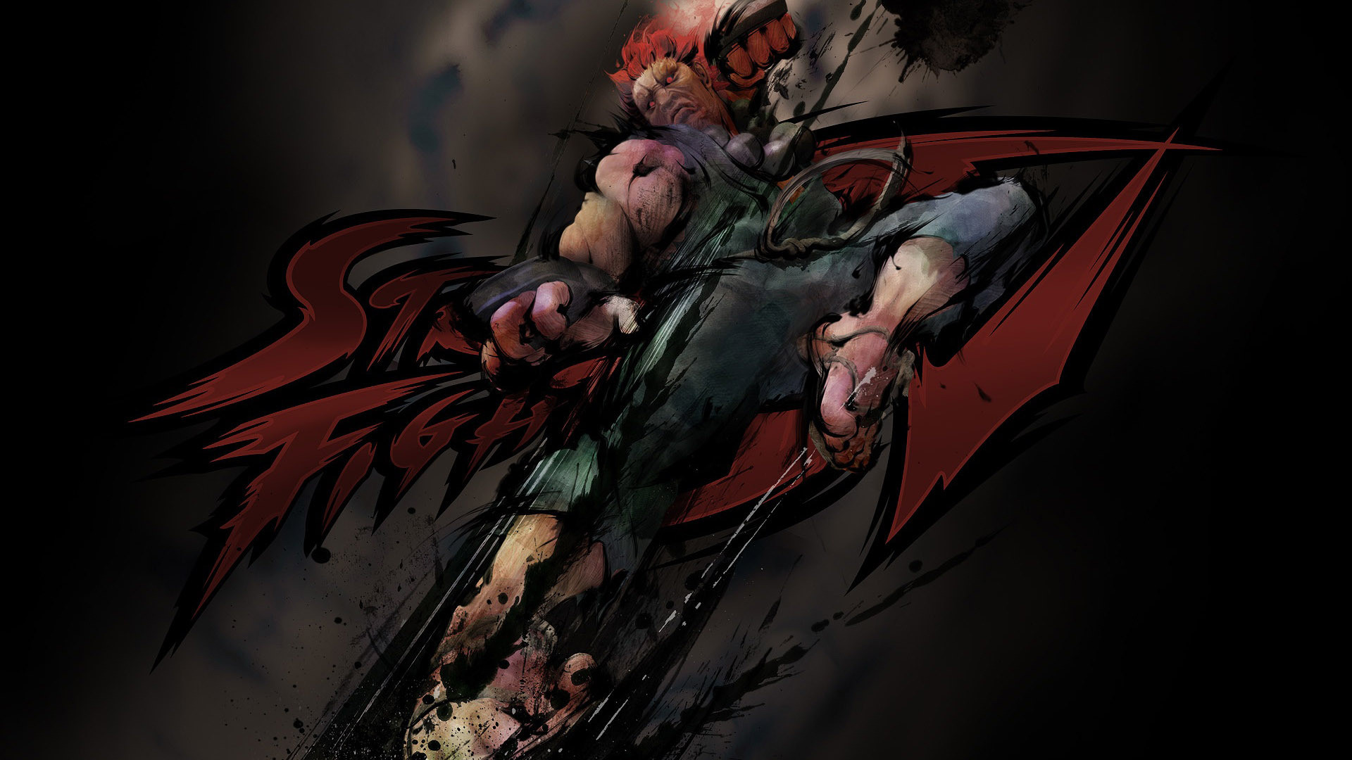 Res: 1920x1080, Evil Ryu - Street Fighter HD Wallpaper