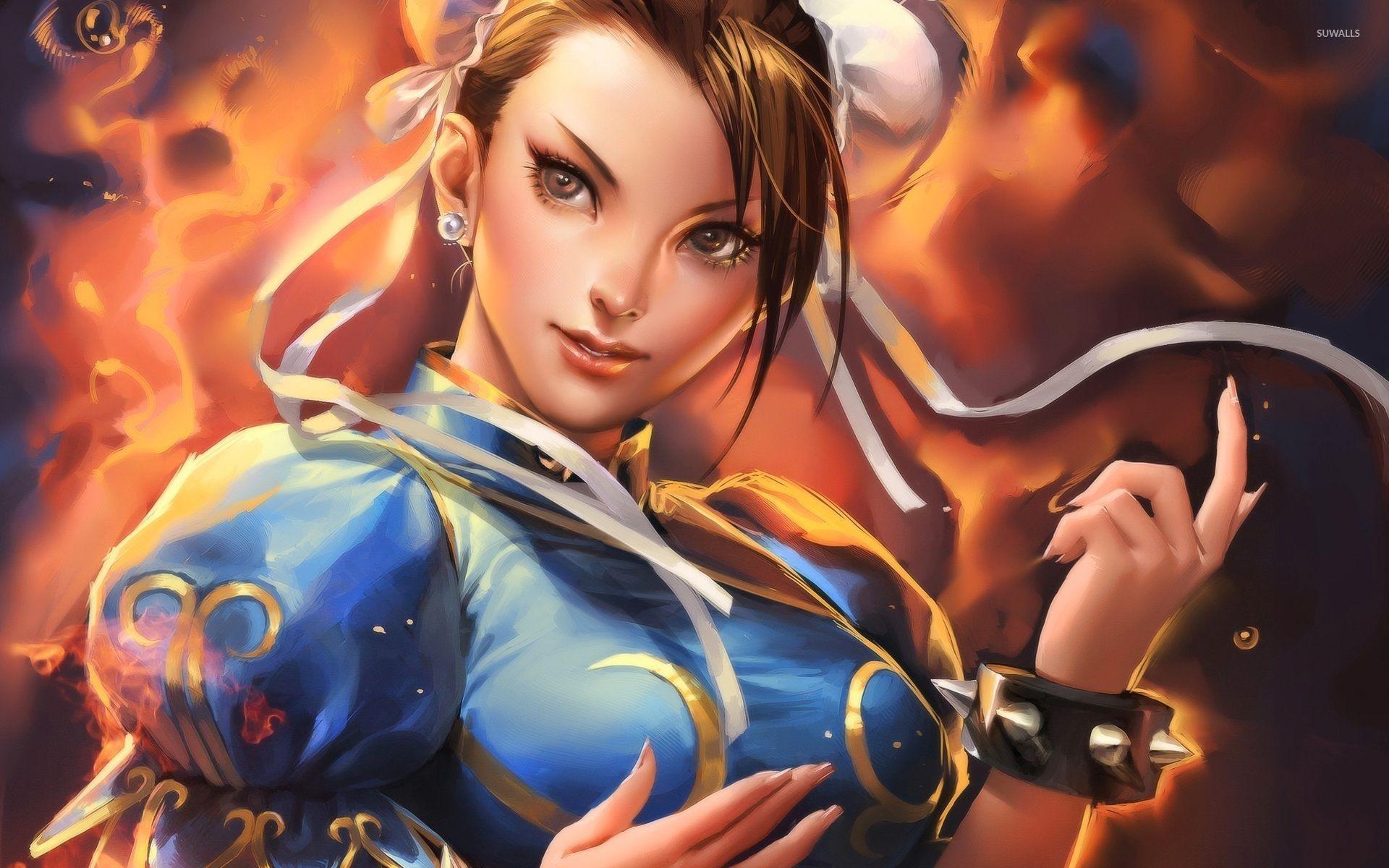 Res: 1920x1200, Chun-Li - Street Fighter IV wallpaper