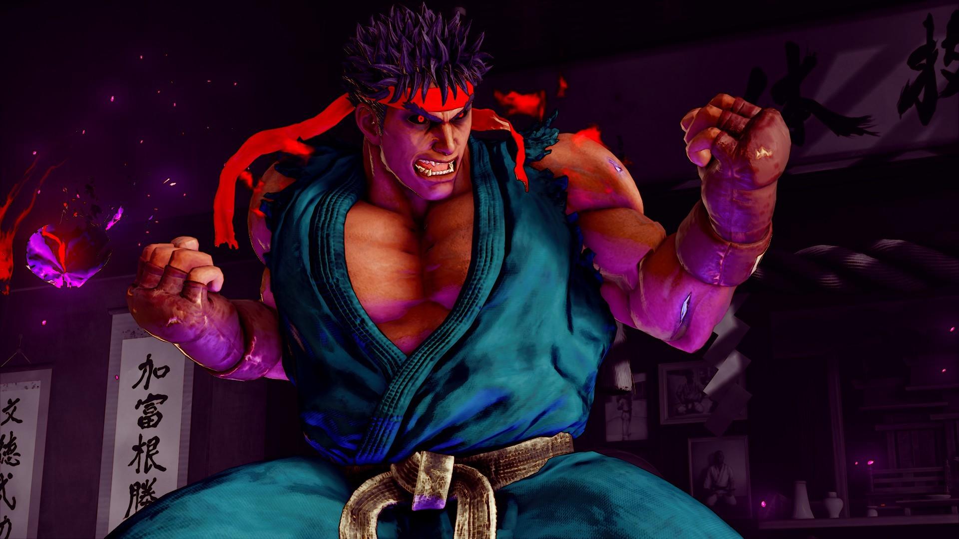 Res: 1920x1080, ... Kage (Evil Ryu) C1 Revised by SleepingMaster