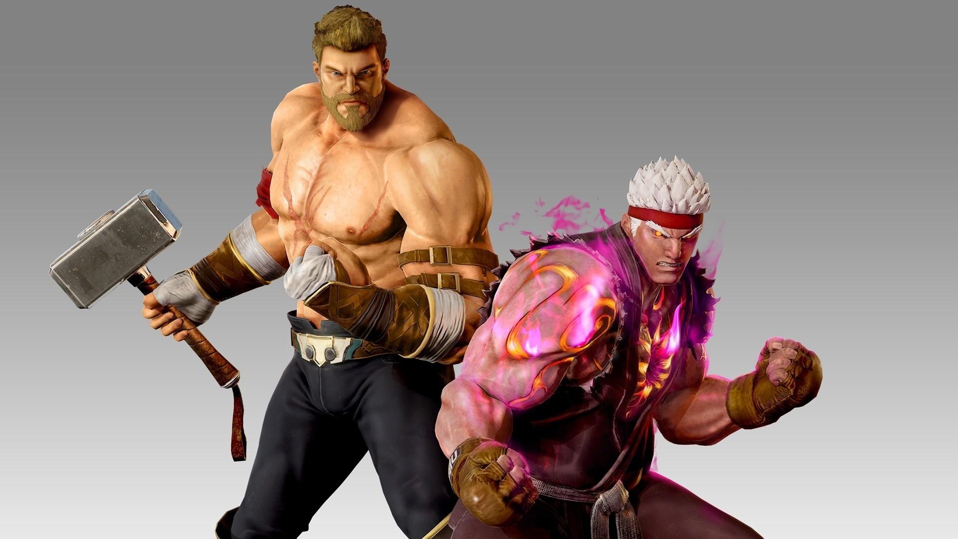 Res: 1920x1080, Marvel Vs. Capcom Infinite, Warrior Thor And Evil Ryu Marvel Vs. Capcom  Infinite