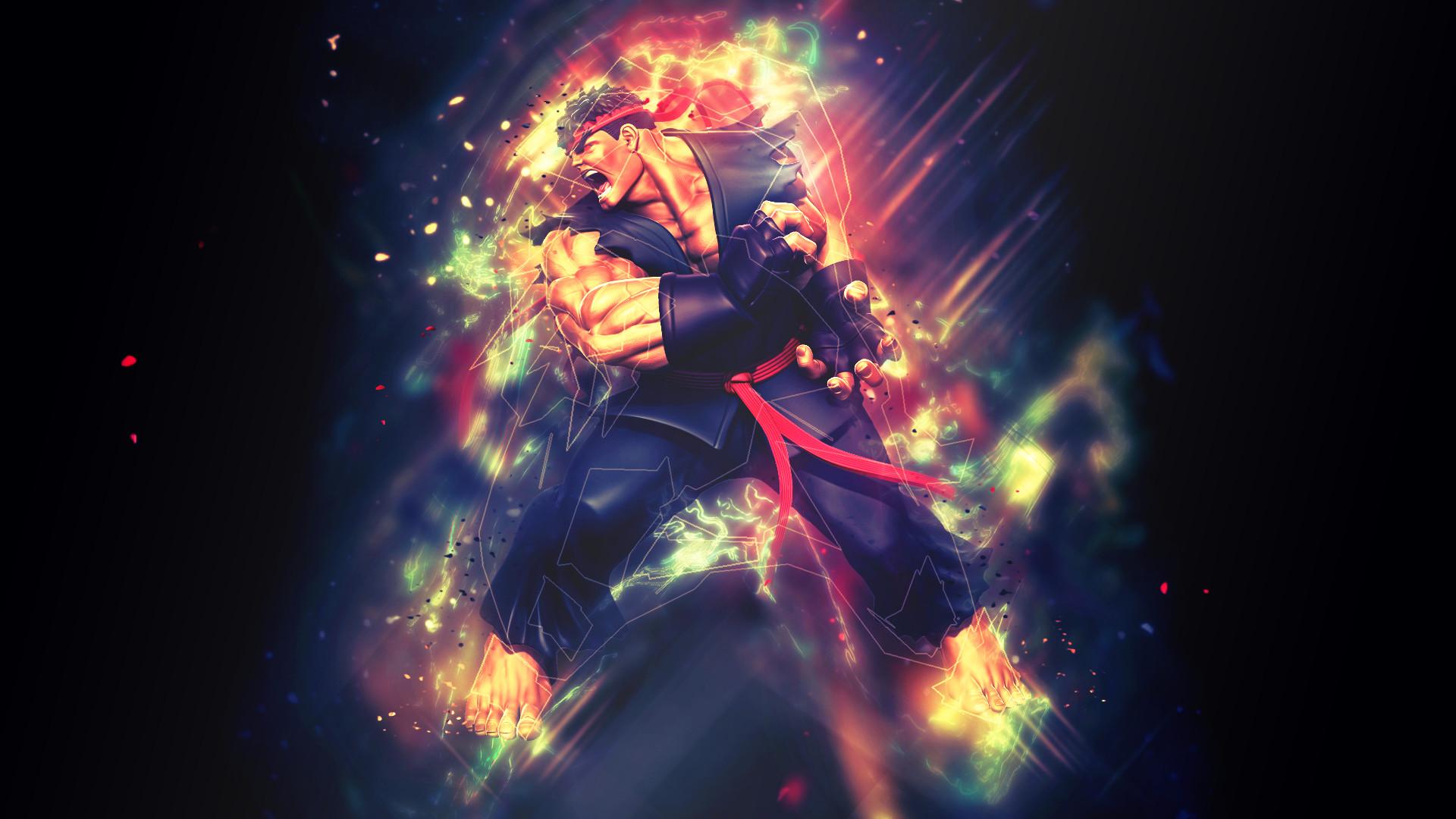 Res: 1920x1080, Evil Ryu Background 3