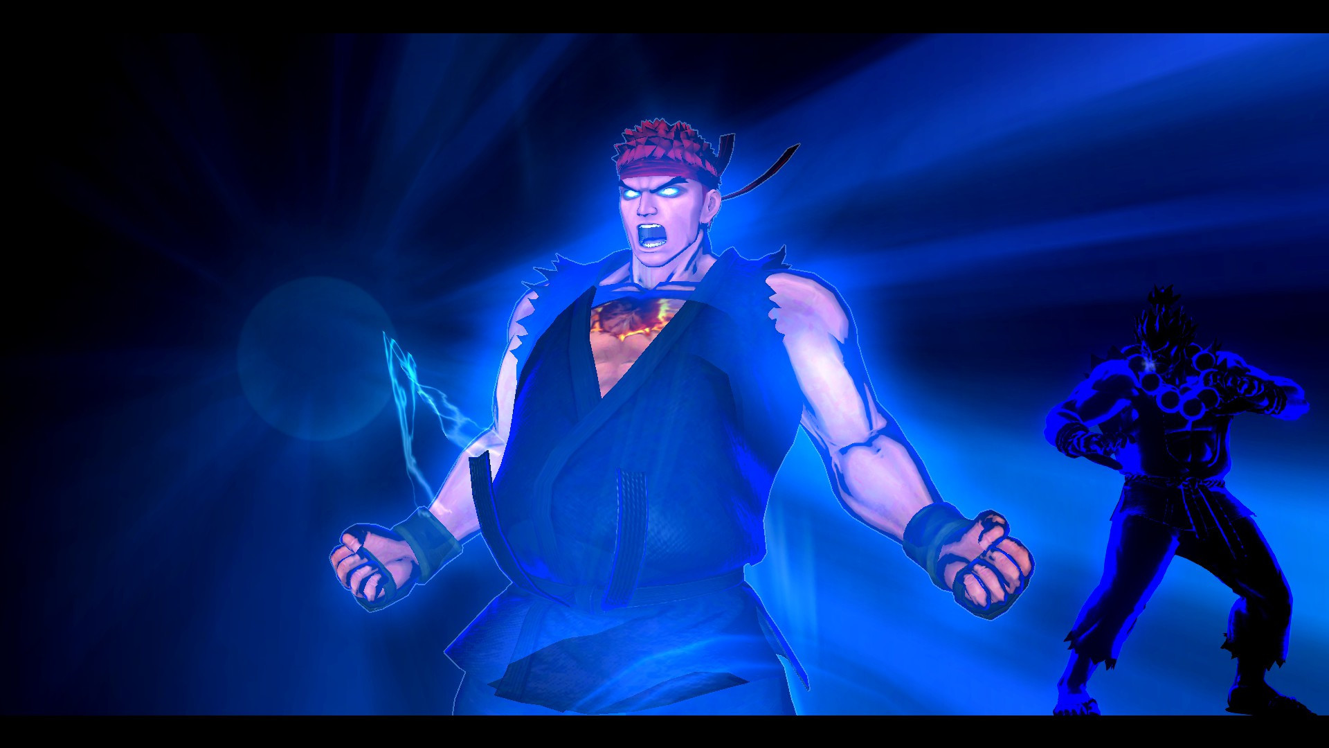 Res: 1920x1080, ... Evil Ryu (SSF4) ...