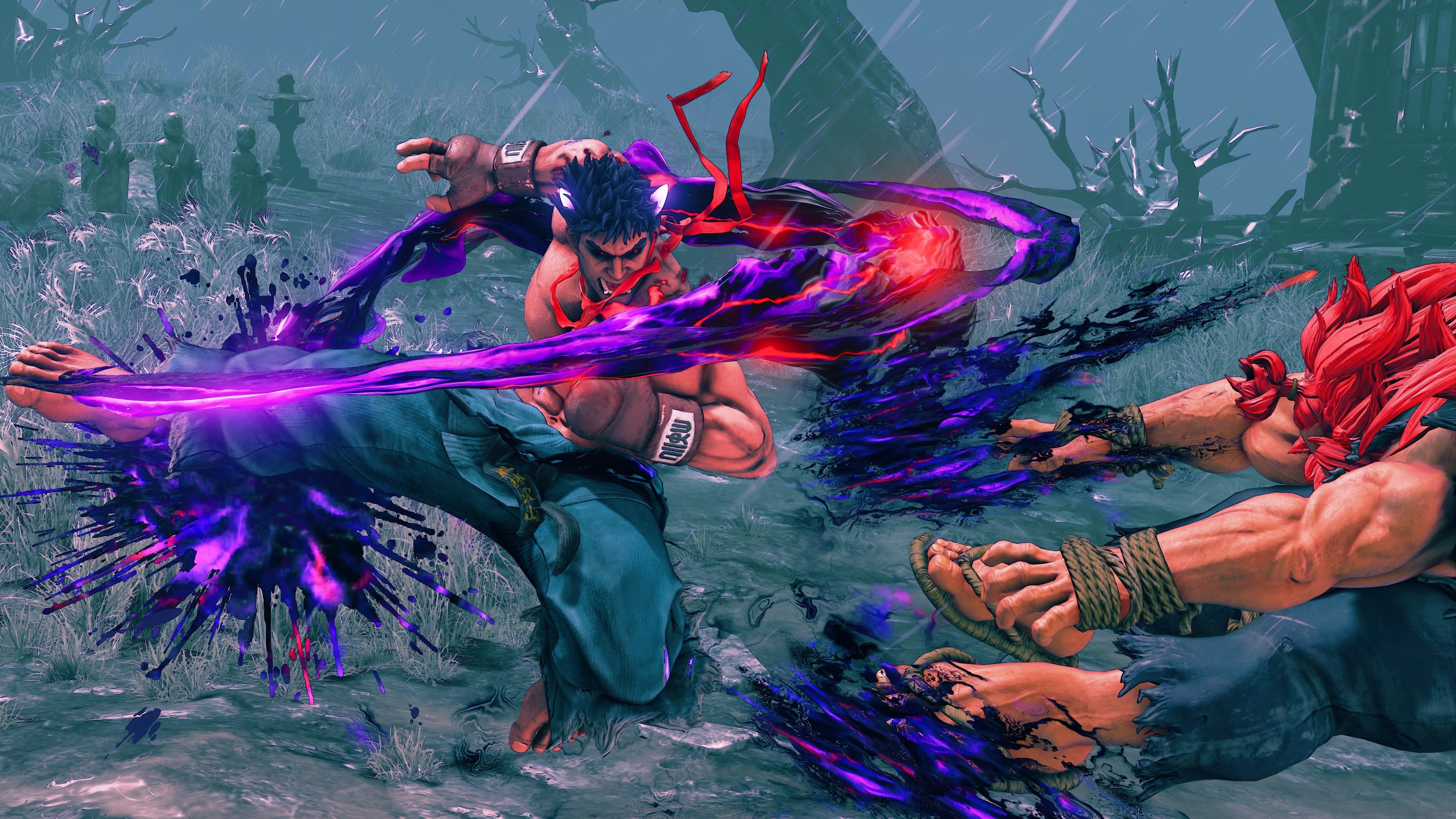 Res: 3840x2160, Street Fighter 5 - Kage Capcom