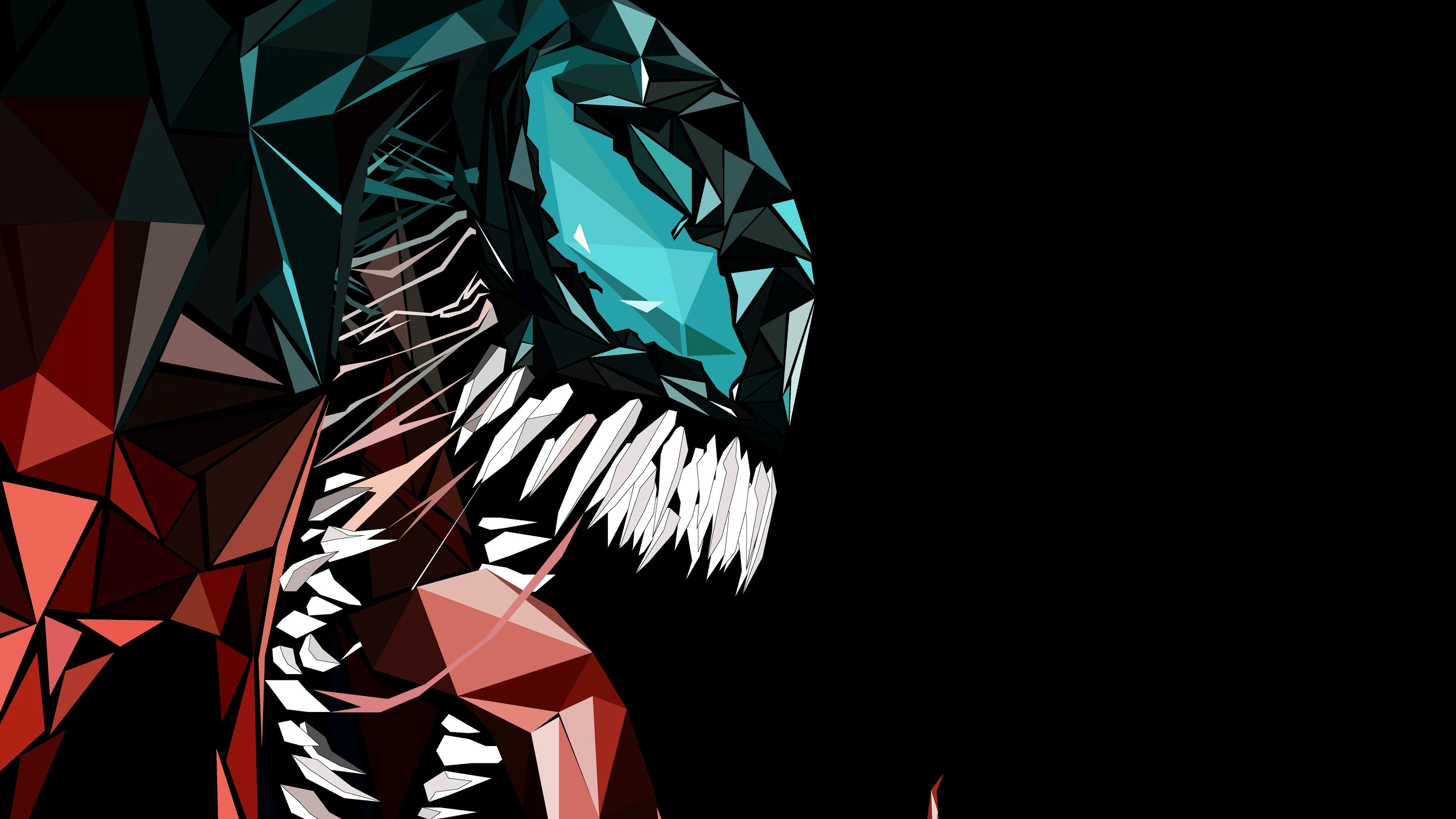 Res: 3840x2160, Venom Abstract 4k Venom Wallpapers Superheroes Wallpapers Hd