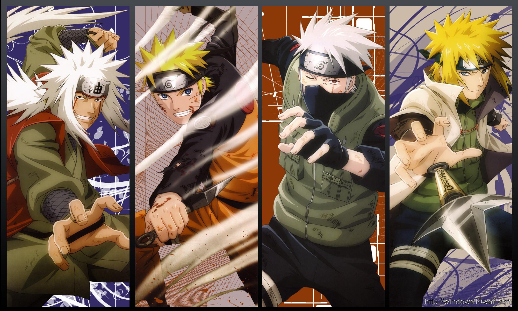 Res: 2000x1200, Naruto Jiraiya Kakashi