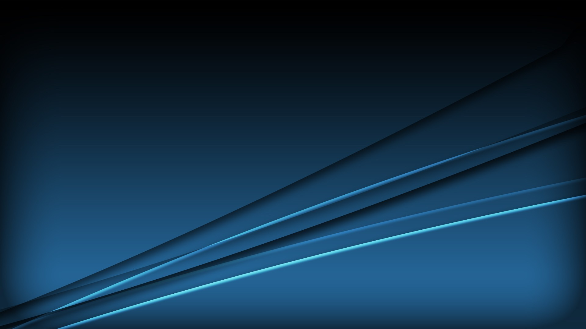 Res: 1920x1080, Abstract blue minimalistic computer graphics wallpaper