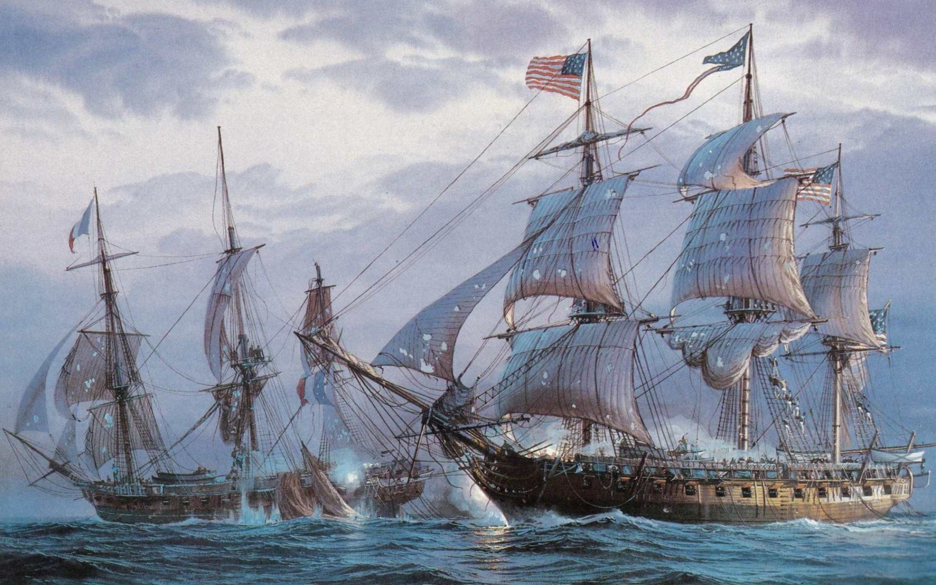 Res: 1920x1200, Old Sailing Ship Background