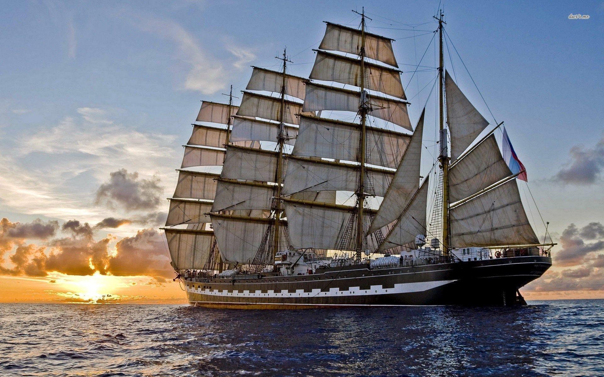 Res: 1920x1200, Sailing ship wallpaper - Photography wallpapers - #17492 #sailboatwallpaper