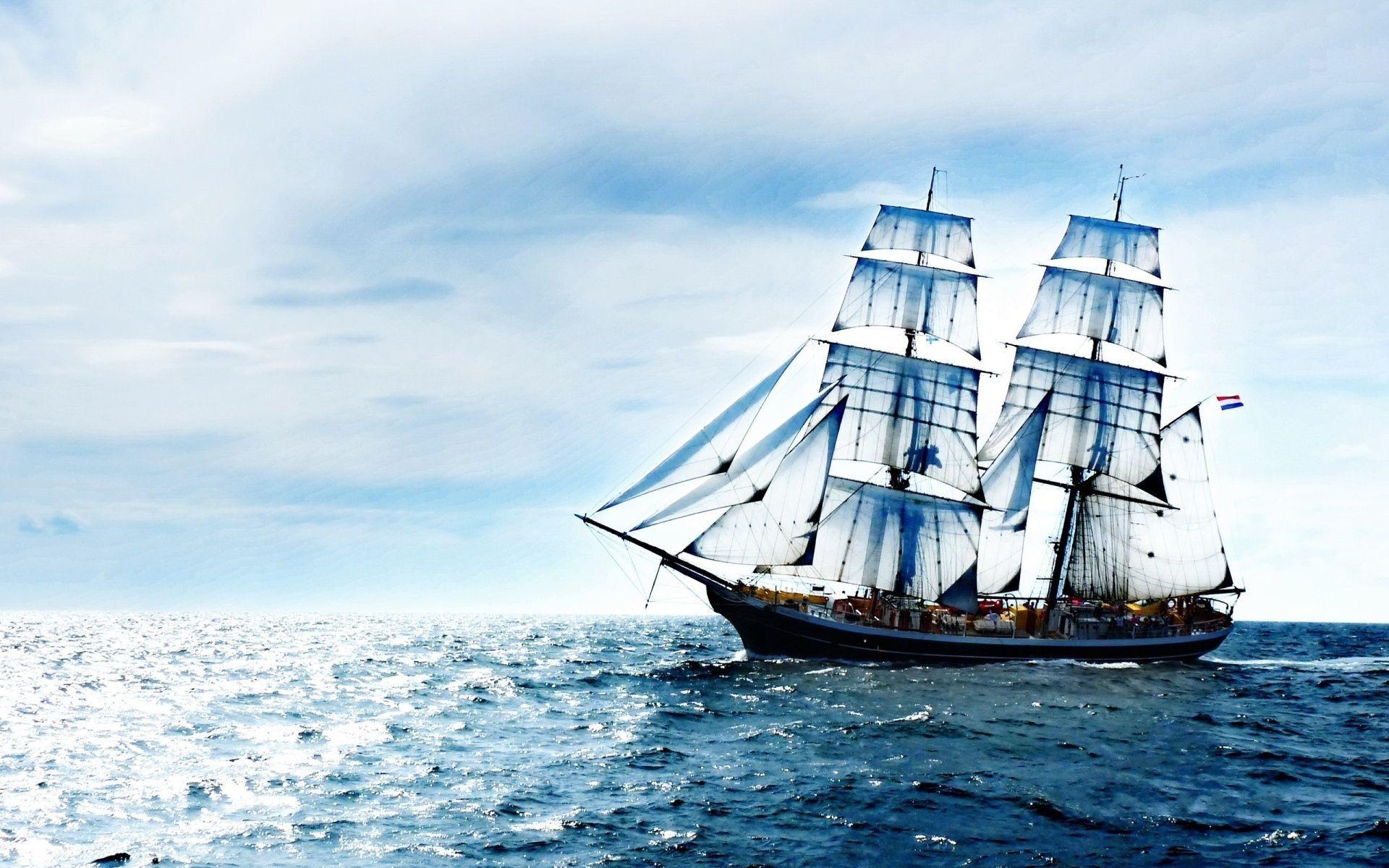 Res: 1920x1200, sailing-ship-wallpapers