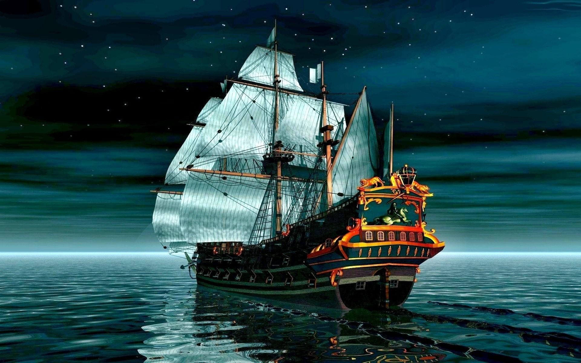 Res: 1920x1200, tall ship