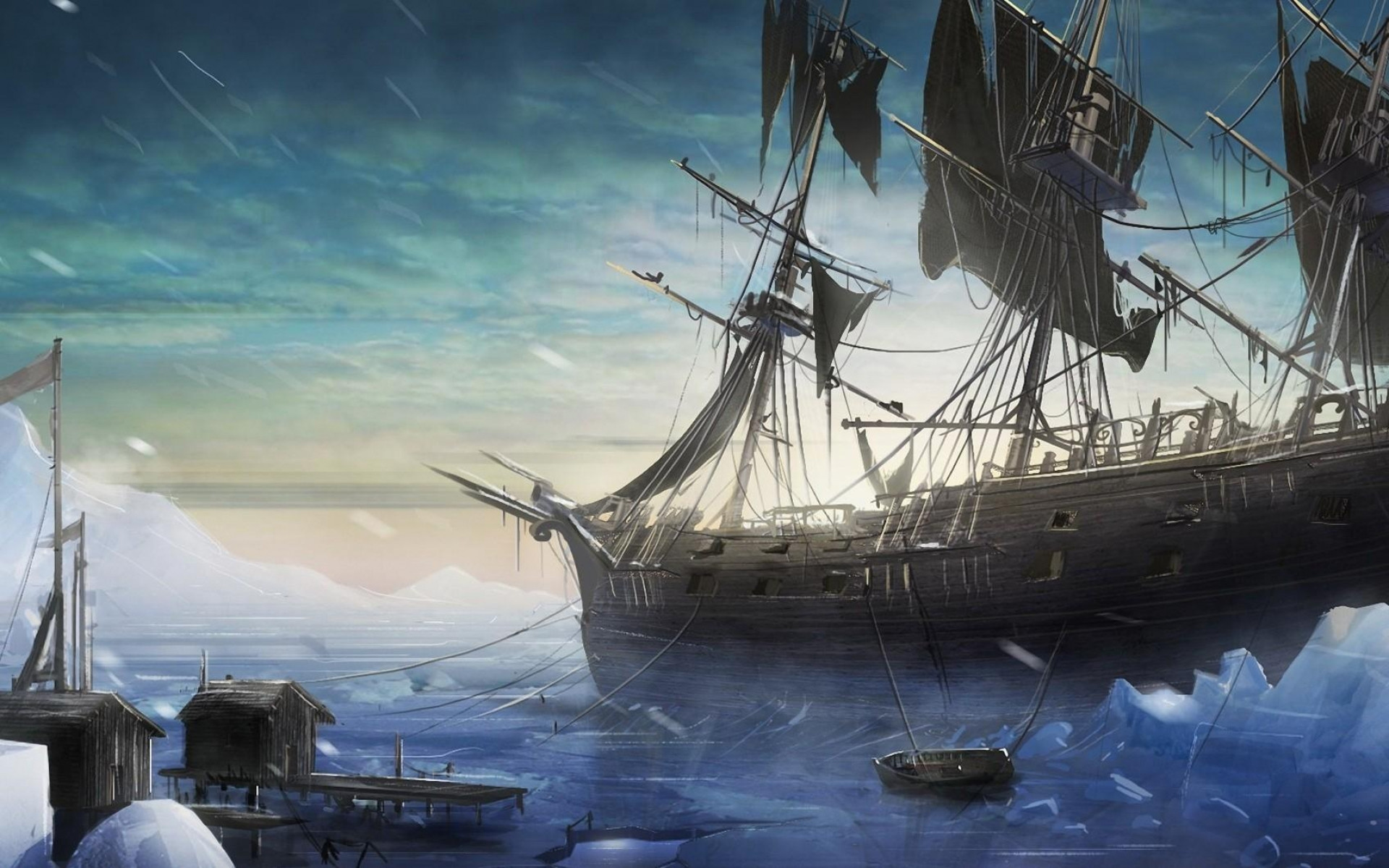 Res: 1920x1200, Sea, Flagship, Tall Ship, Ship of The Line, Ship HD Wallpaper, Other  Picture, Background and Image