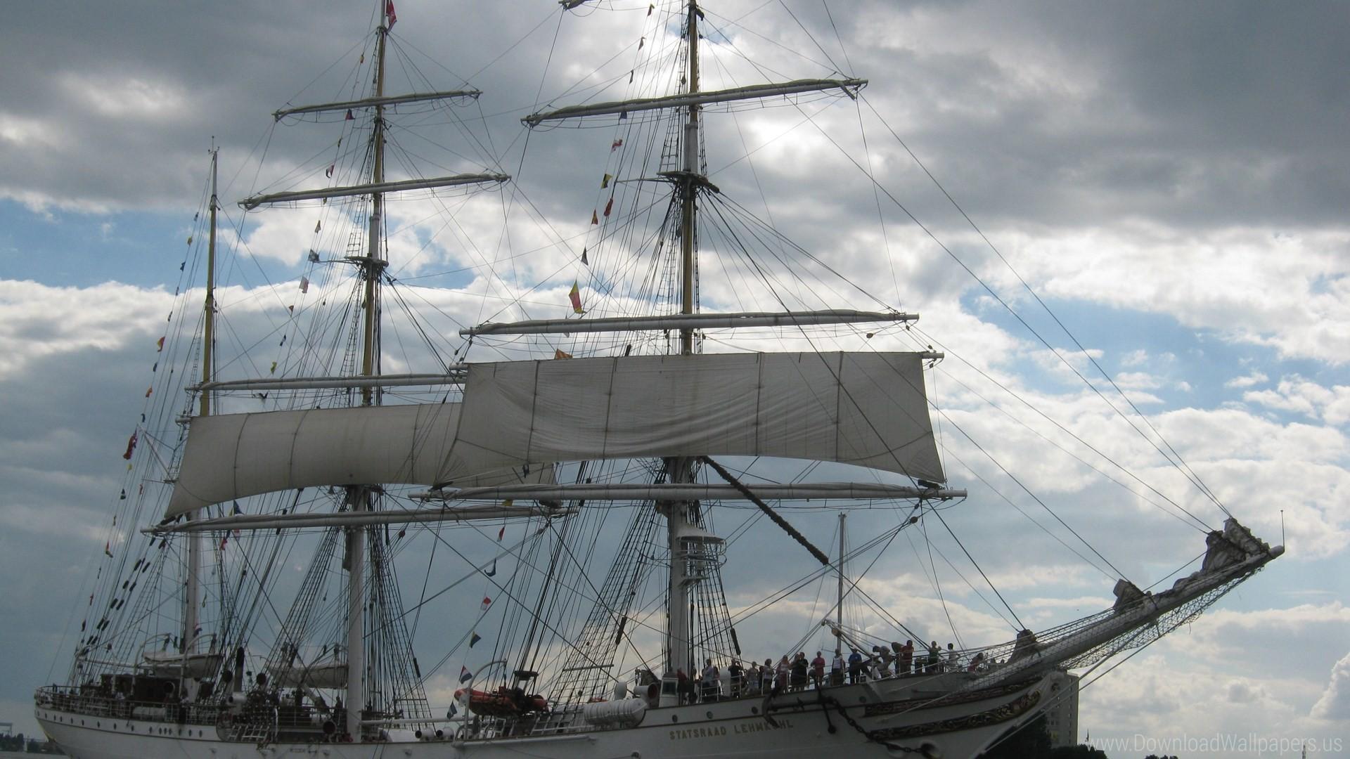 Res: 1920x1080, Download Widescreen 16:9  - Belgium, Tall Ships Race Antwerpen  2010 Wallpaper
