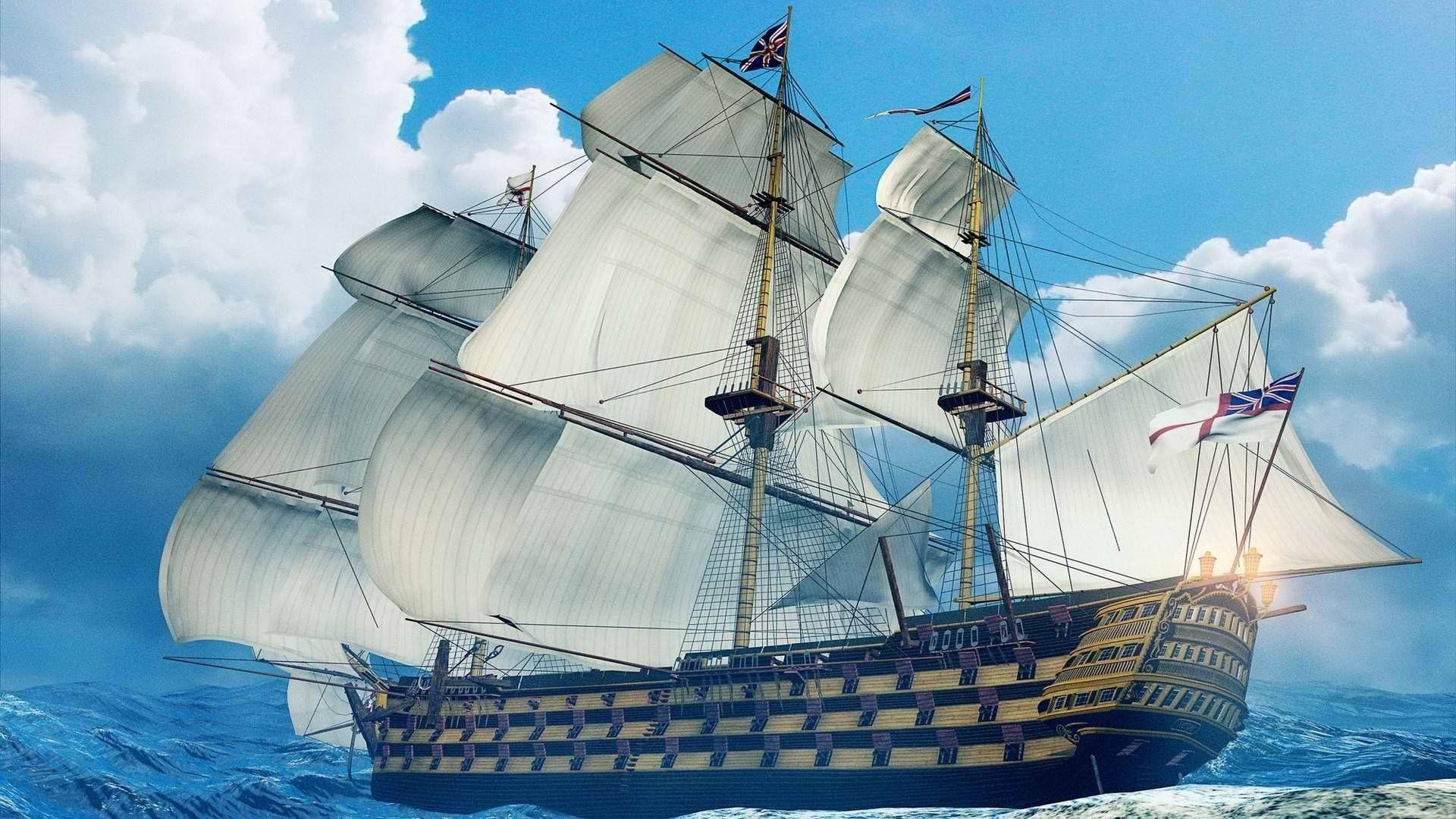 Res: 1920x1080, Art HD Ship Wallpaper 1920×1080 Beautiful Ship Image http://nirhara.