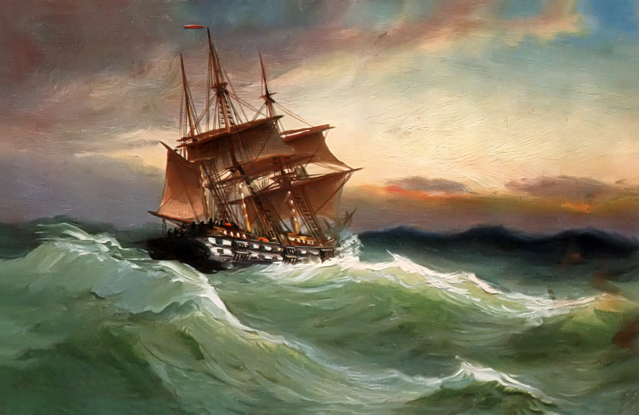 Res: 2048x1331, Sailing Ship on Stormy Sea HD Wallpaper | Hintergrund |  |  ID:678227 - Wallpaper Abyss